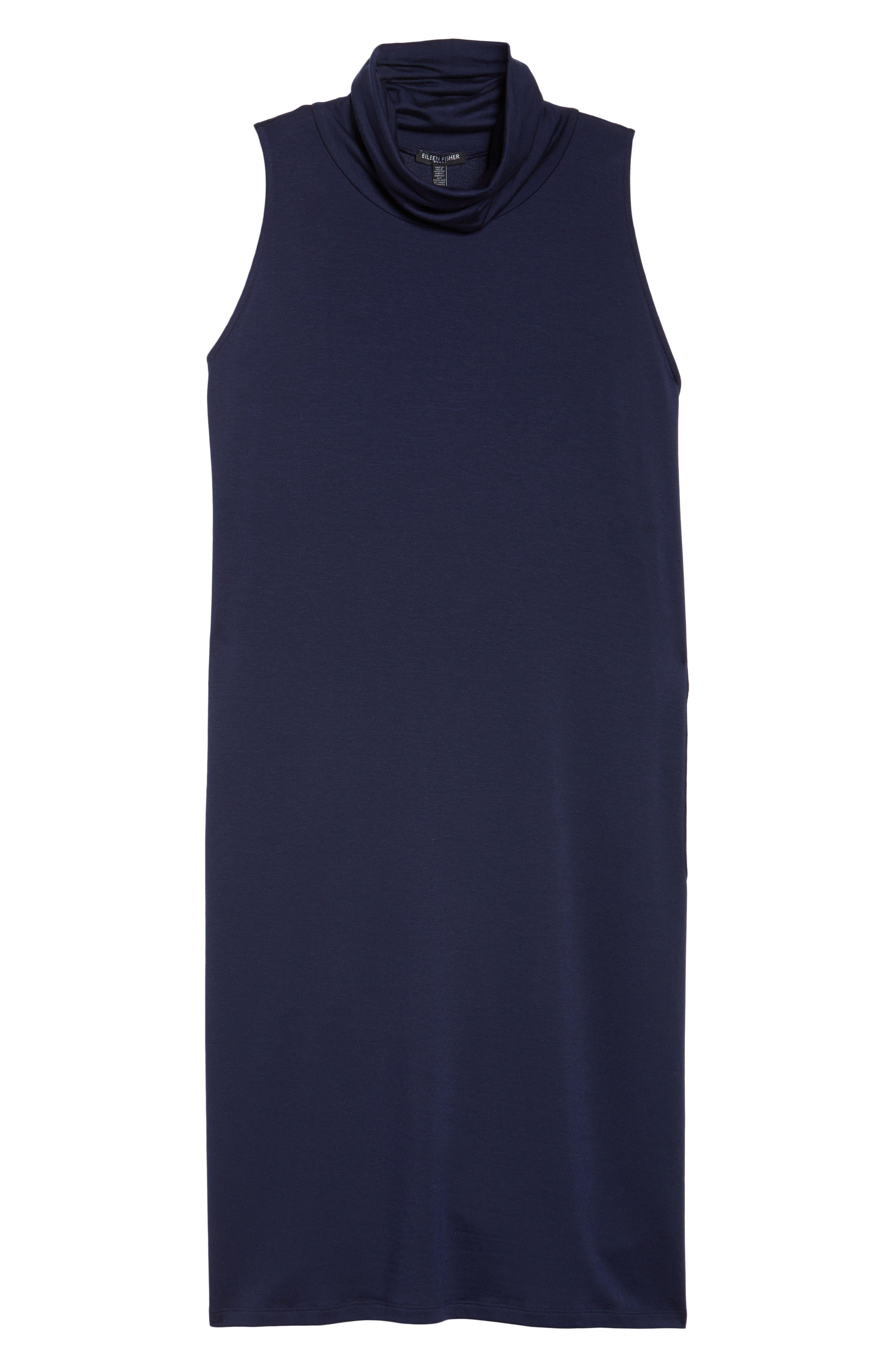 Stretch Tencel<sup>®</sup> Knit Jumper Dress,                             Alternate thumbnail 18, color,