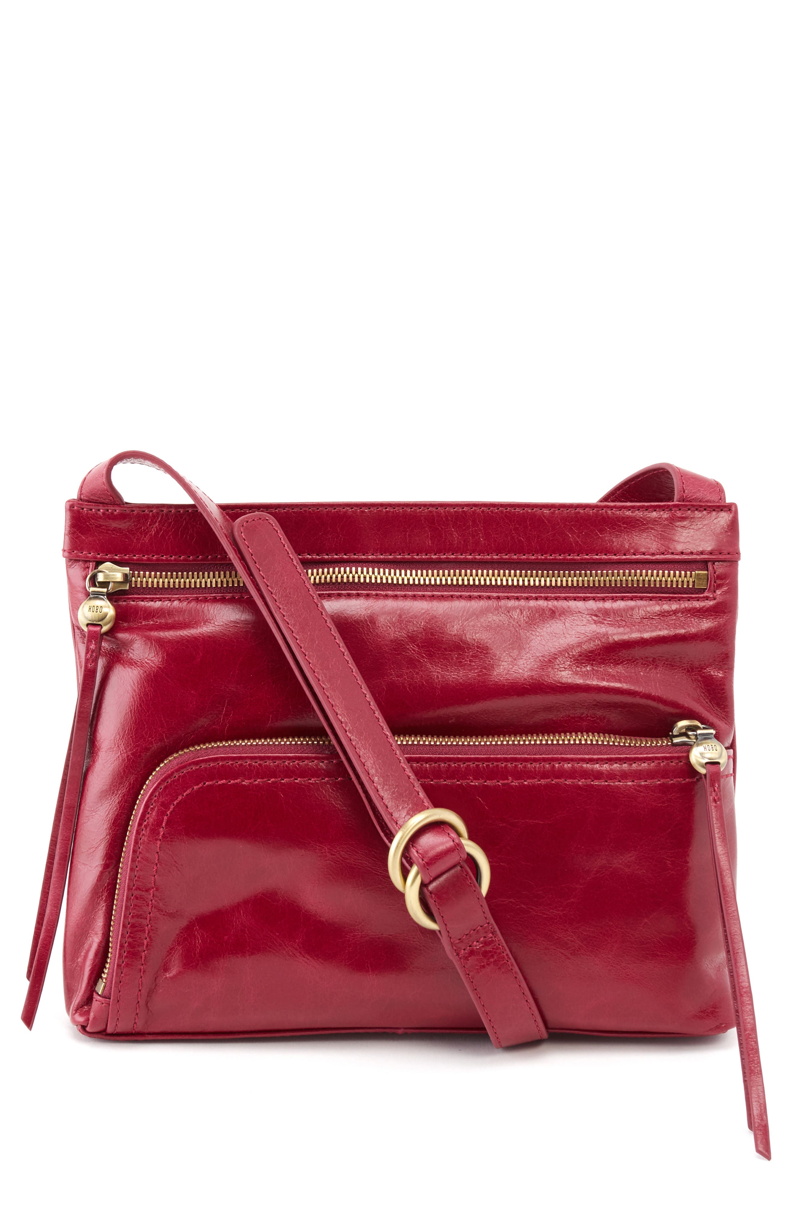Cassie Crossbody Bag,                             Main thumbnail 1, color,                             RUBY