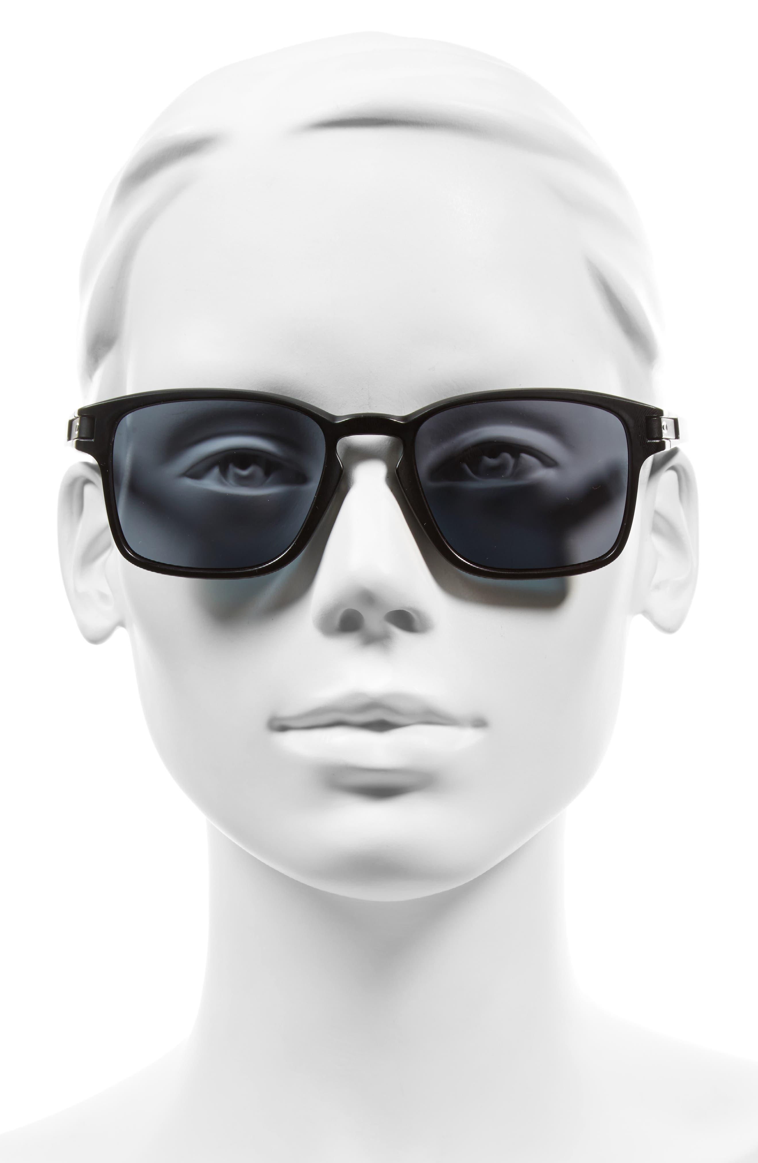 Latch 52mm Rectangular Sunglasses,                             Alternate thumbnail 2, color,                             001