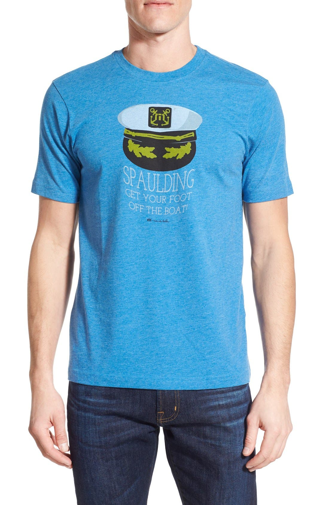 'Spaulding' Graphic T-Shirt,                             Main thumbnail 2, color,