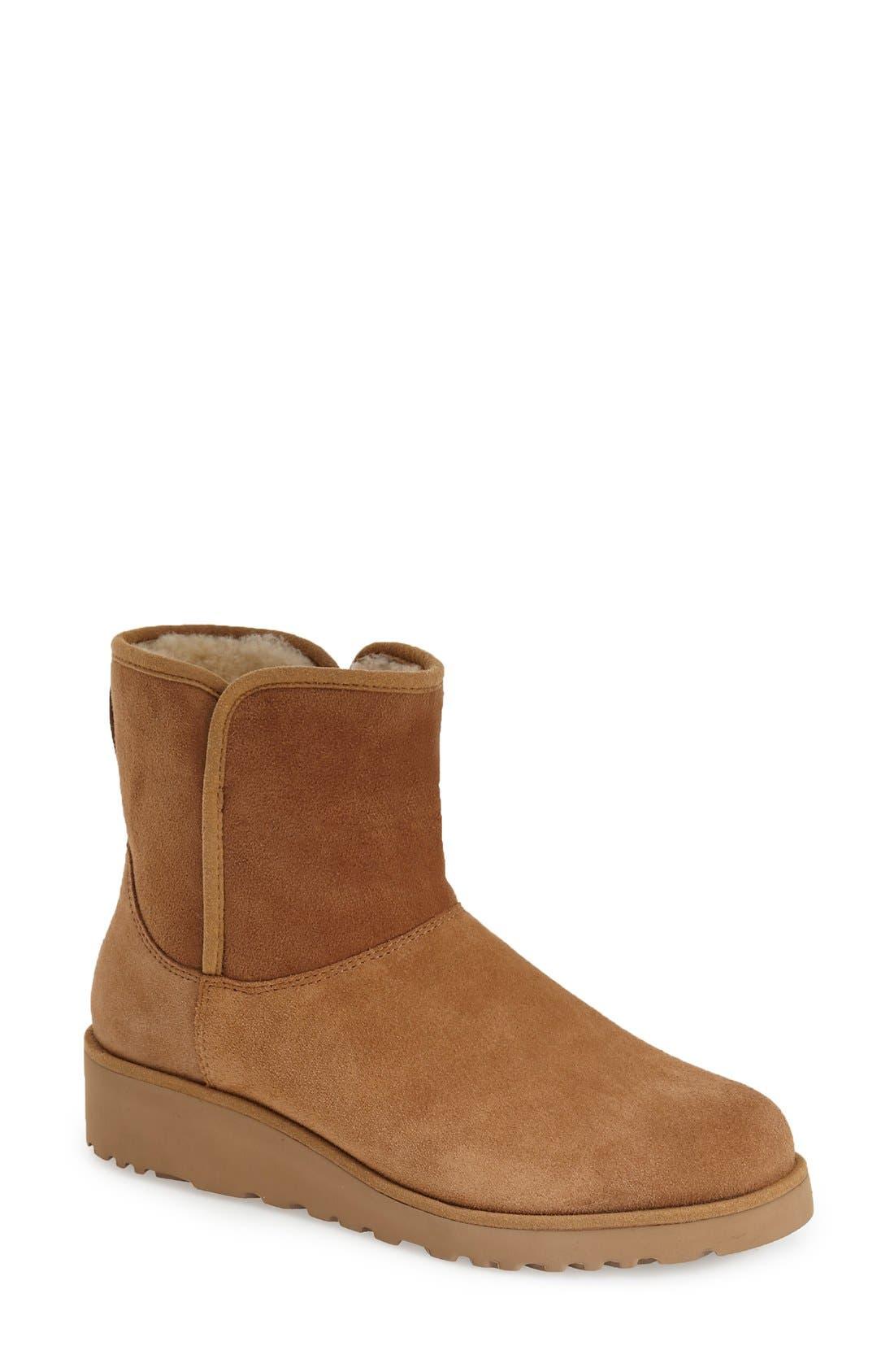 Kristin Classic Slim™ Mini Boot, Chestnut