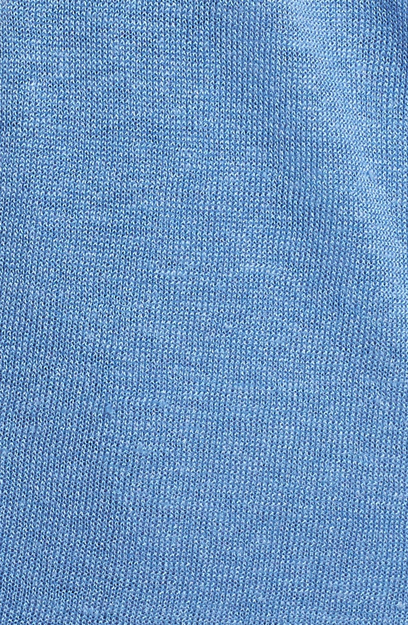 Four-Way Convertible Cardigan,                             Alternate thumbnail 5, color,                             BLUE HAZE