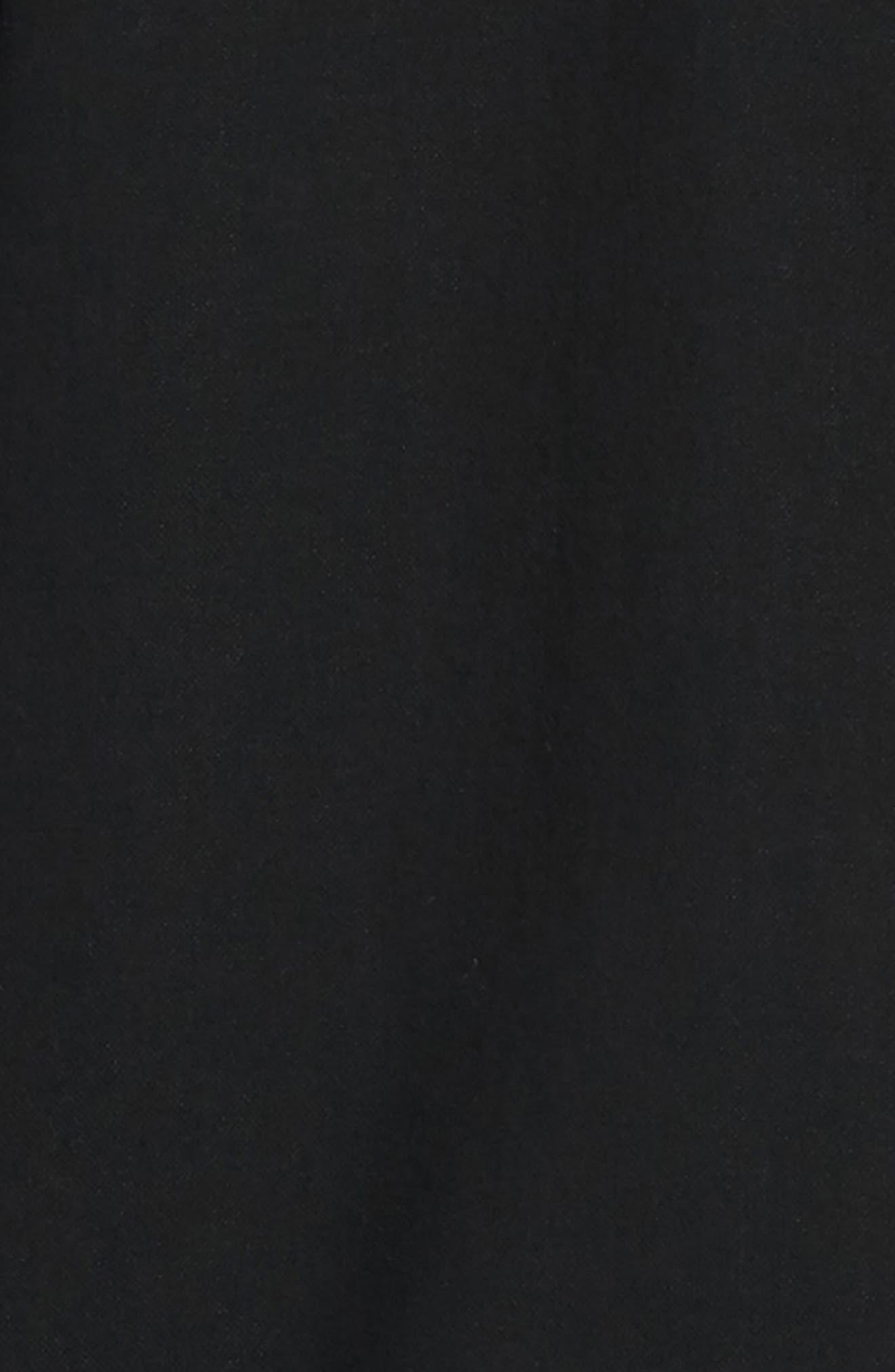 Fit 2 Slim Tomlin Sport Shirt,                             Alternate thumbnail 6, color,                             BLACK/ WHITE