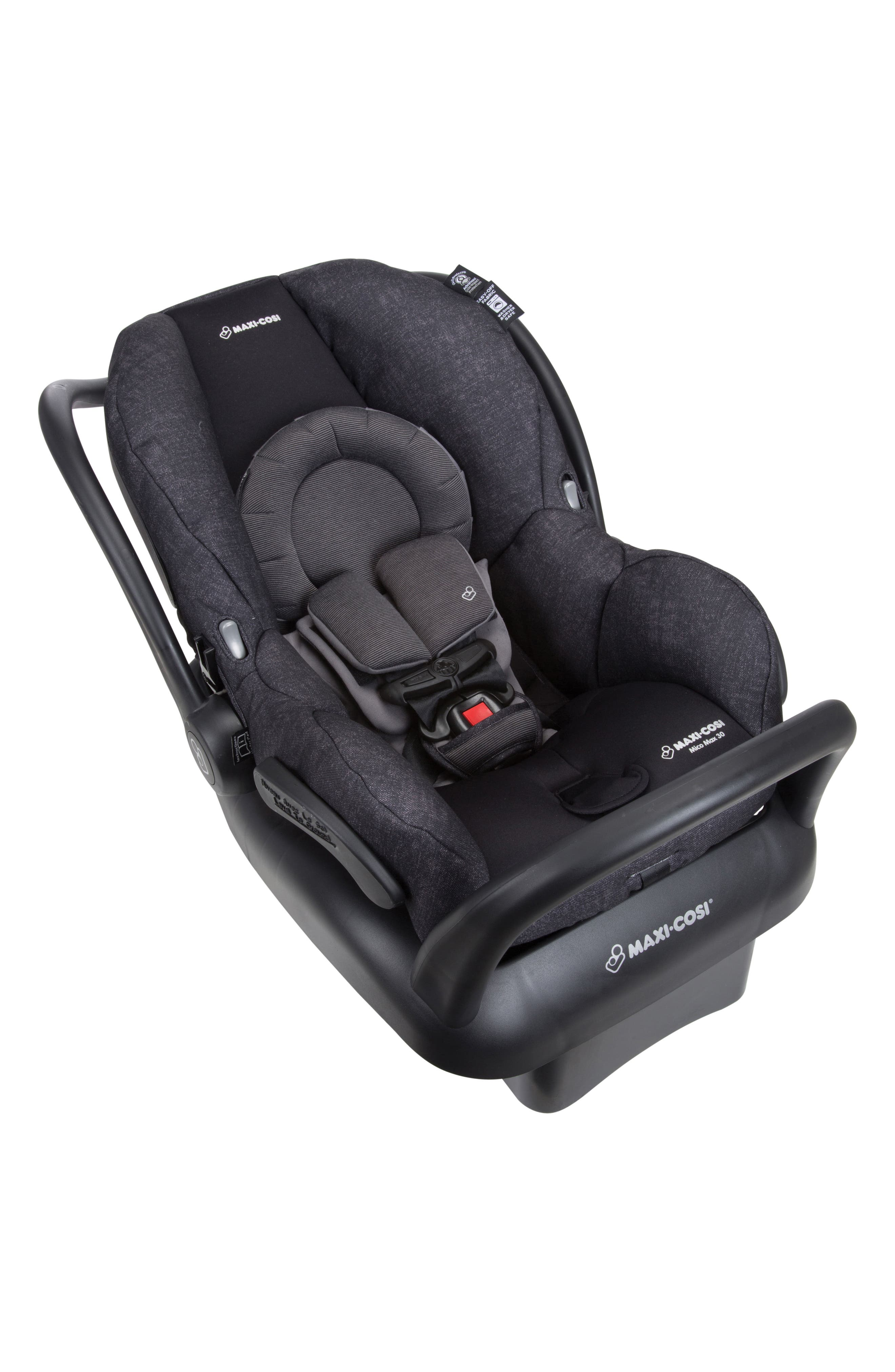 Mico Max 30 Nomad Collection Infant Car Seat,                             Alternate thumbnail 2, color,                             NOMAD BLACK