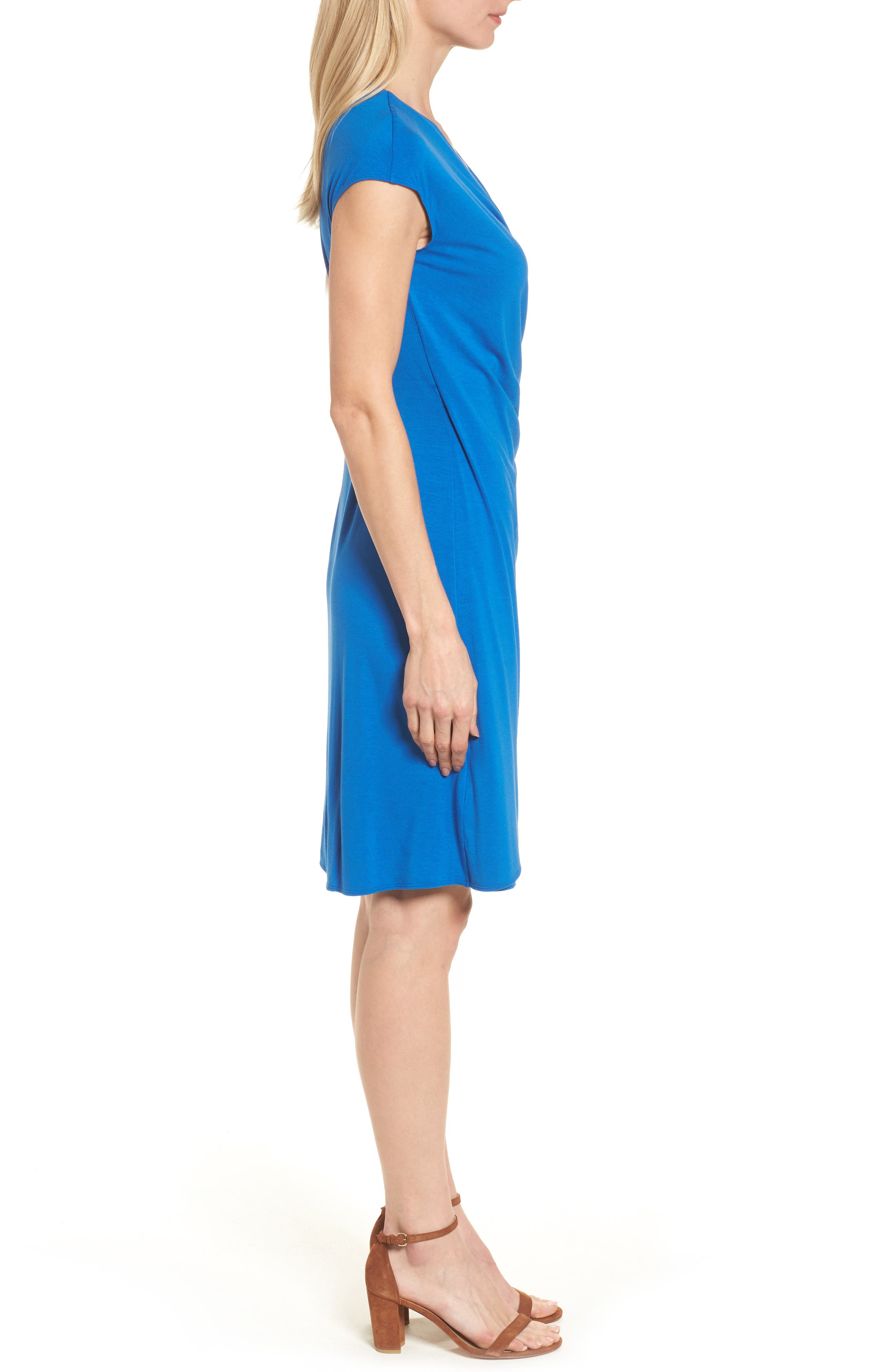 'Tambour' Side Gathered Dress,                             Alternate thumbnail 19, color,