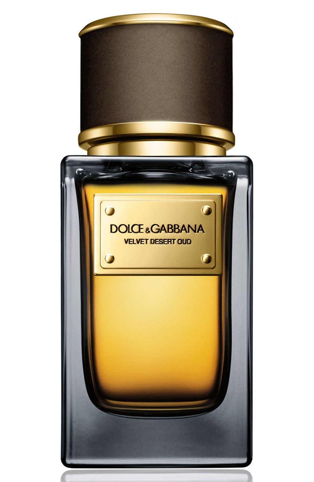 Dolce&GabbanaBeauty 'Velvet Desert Oud' Eau de Parfum,                             Main thumbnail 1, color,                             NO COLOR