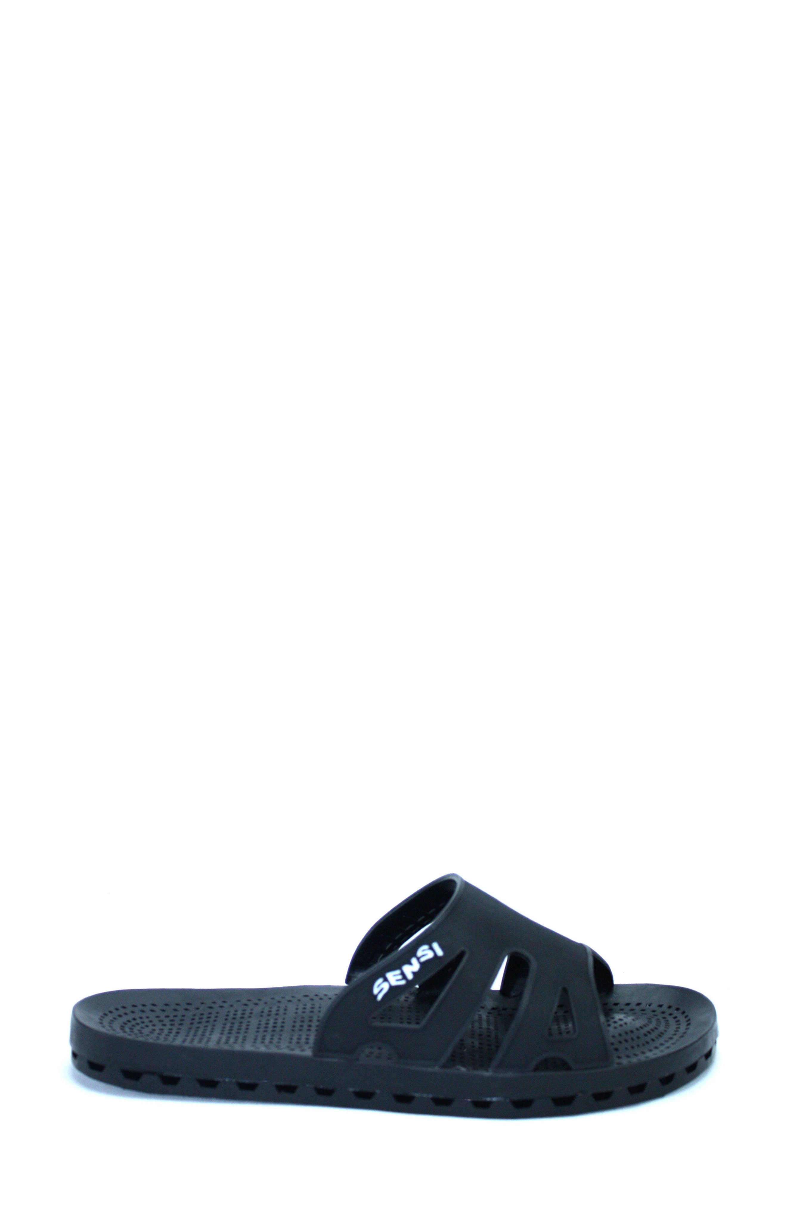 SENSI,                             Regatta Slide Sandal,                             Alternate thumbnail 3, color,                             001