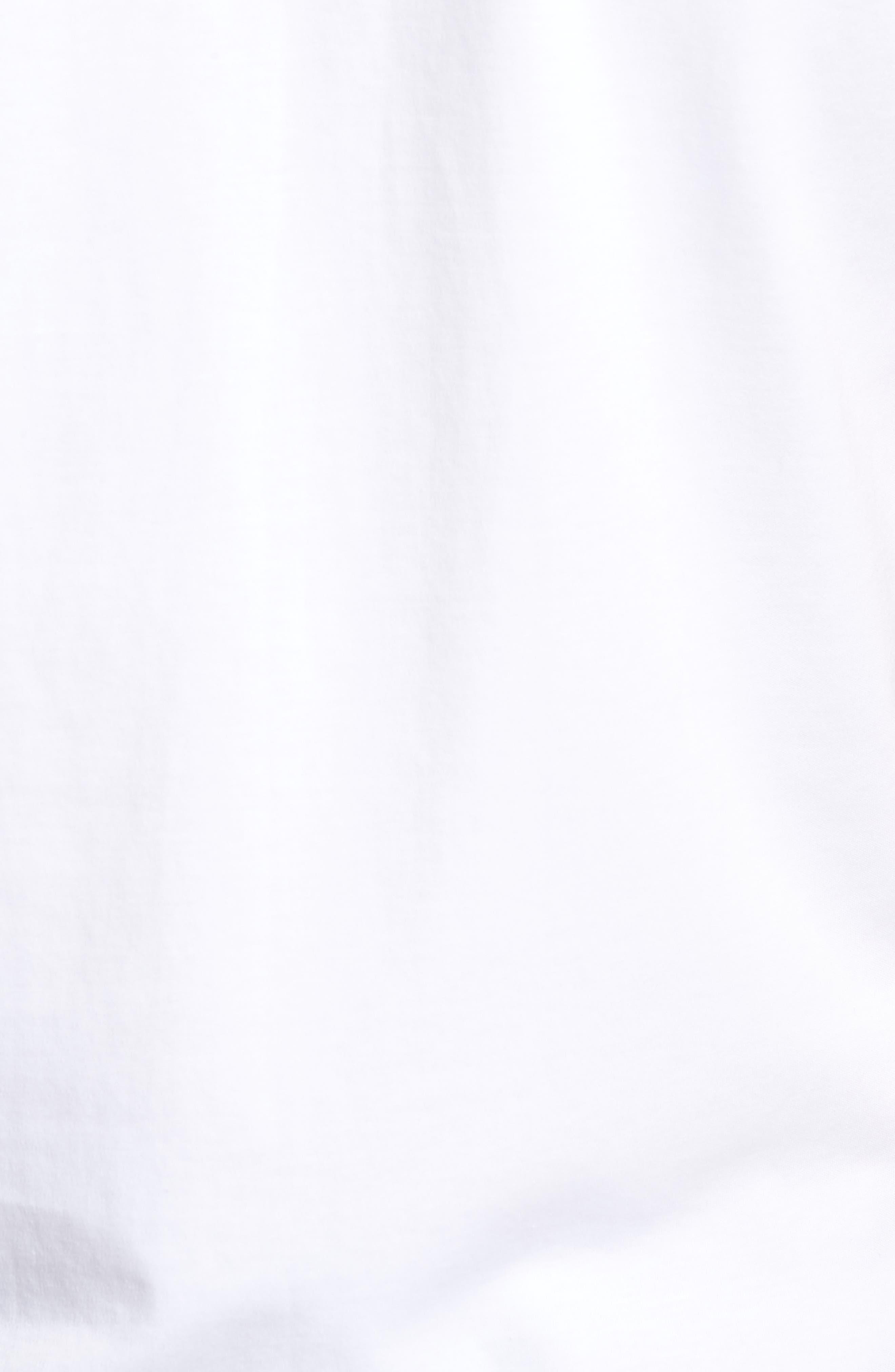 'Georgia' Crewneck T-Shirt,                             Alternate thumbnail 5, color,                             WHITE
