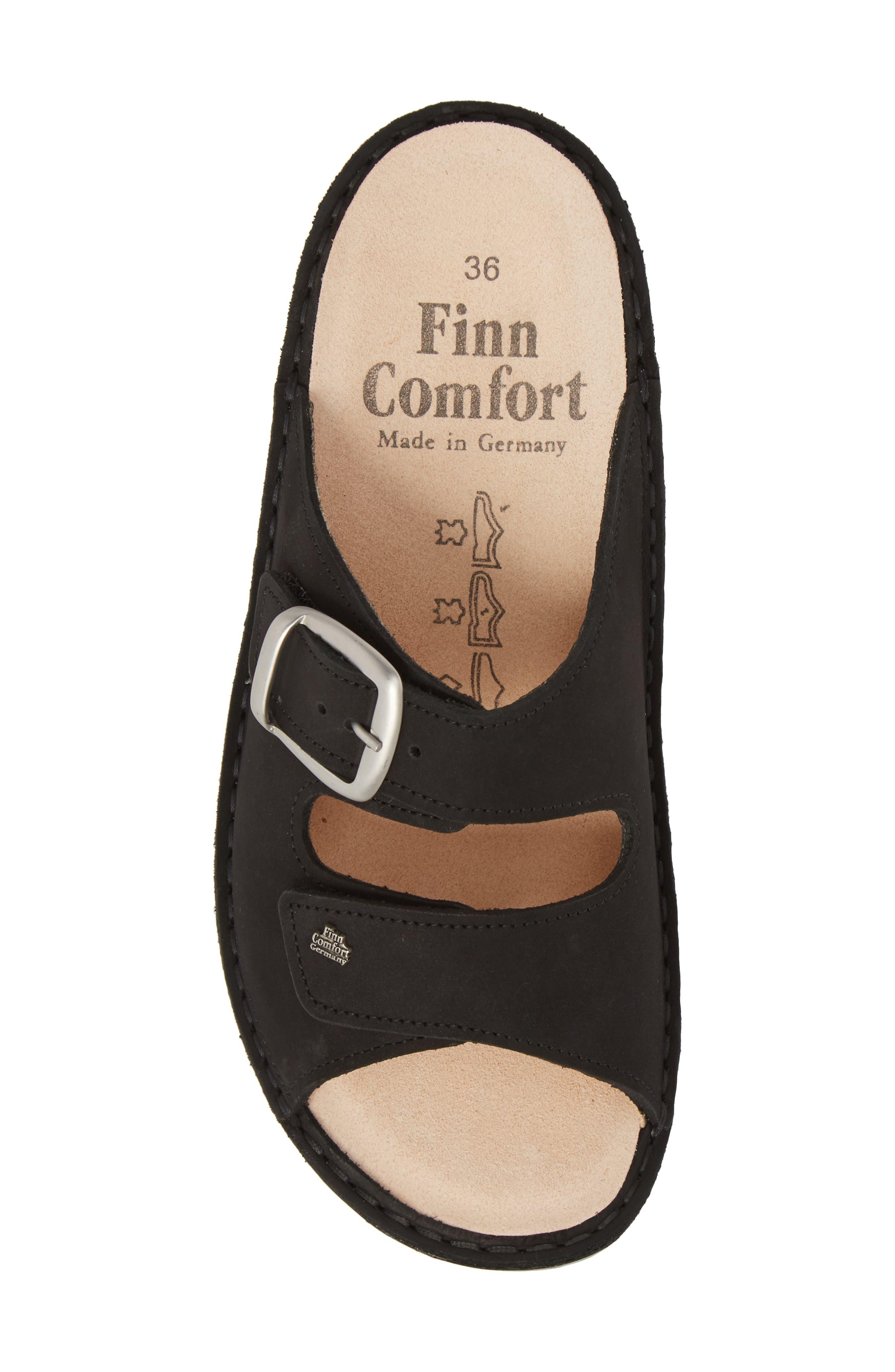 FINN COMFORT,                             Harper Slide Sandal,                             Alternate thumbnail 5, color,                             001