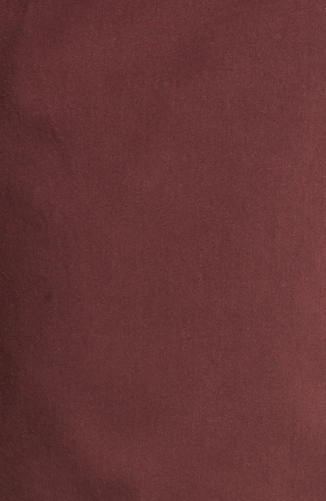 Charisma Relaxed Fit Pants,                             Alternate thumbnail 5, color,                             BORDEAUX TWILL