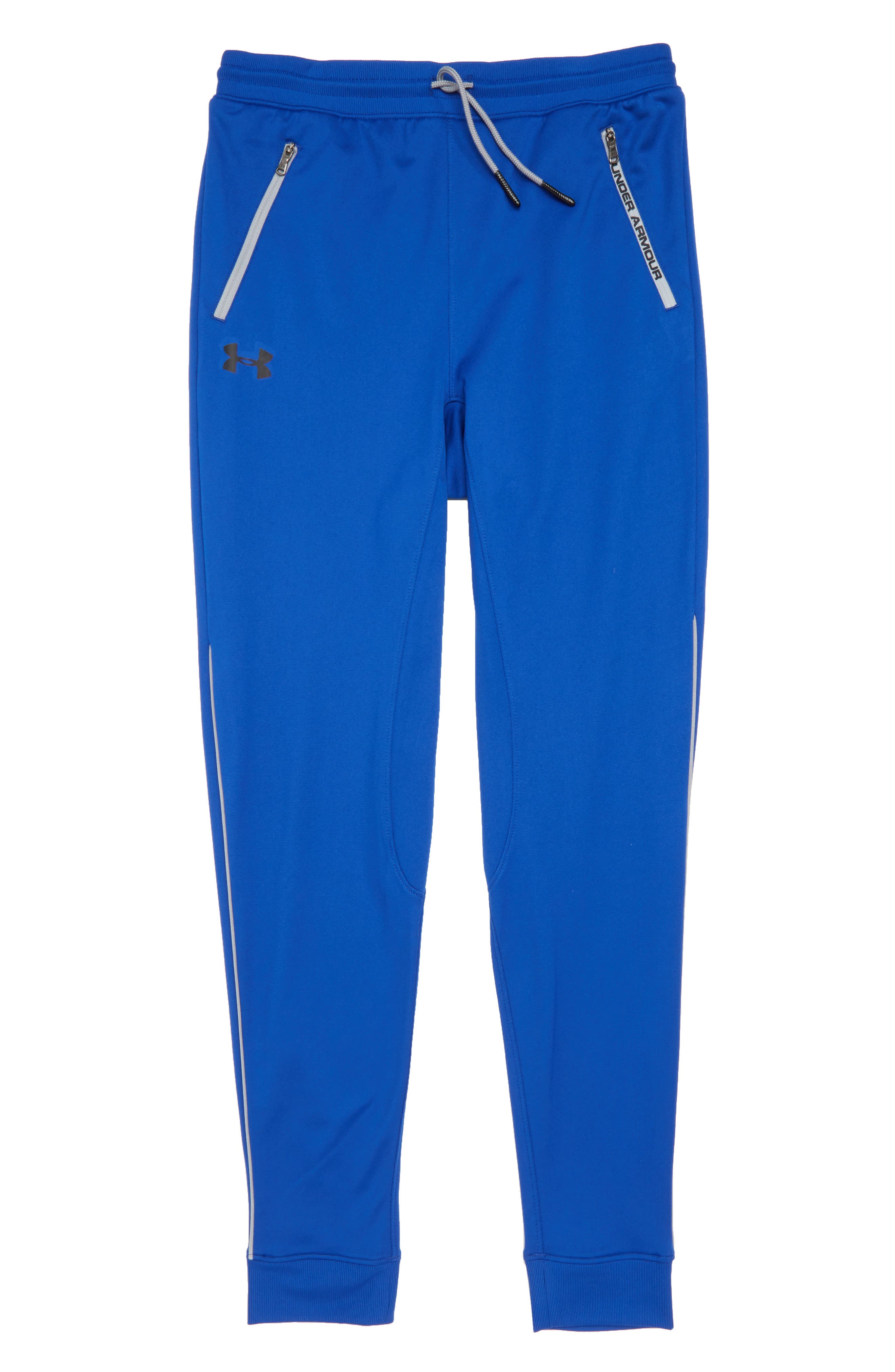 Boys Under Armour Pennant Tapered Pants Size S (78)  Blue