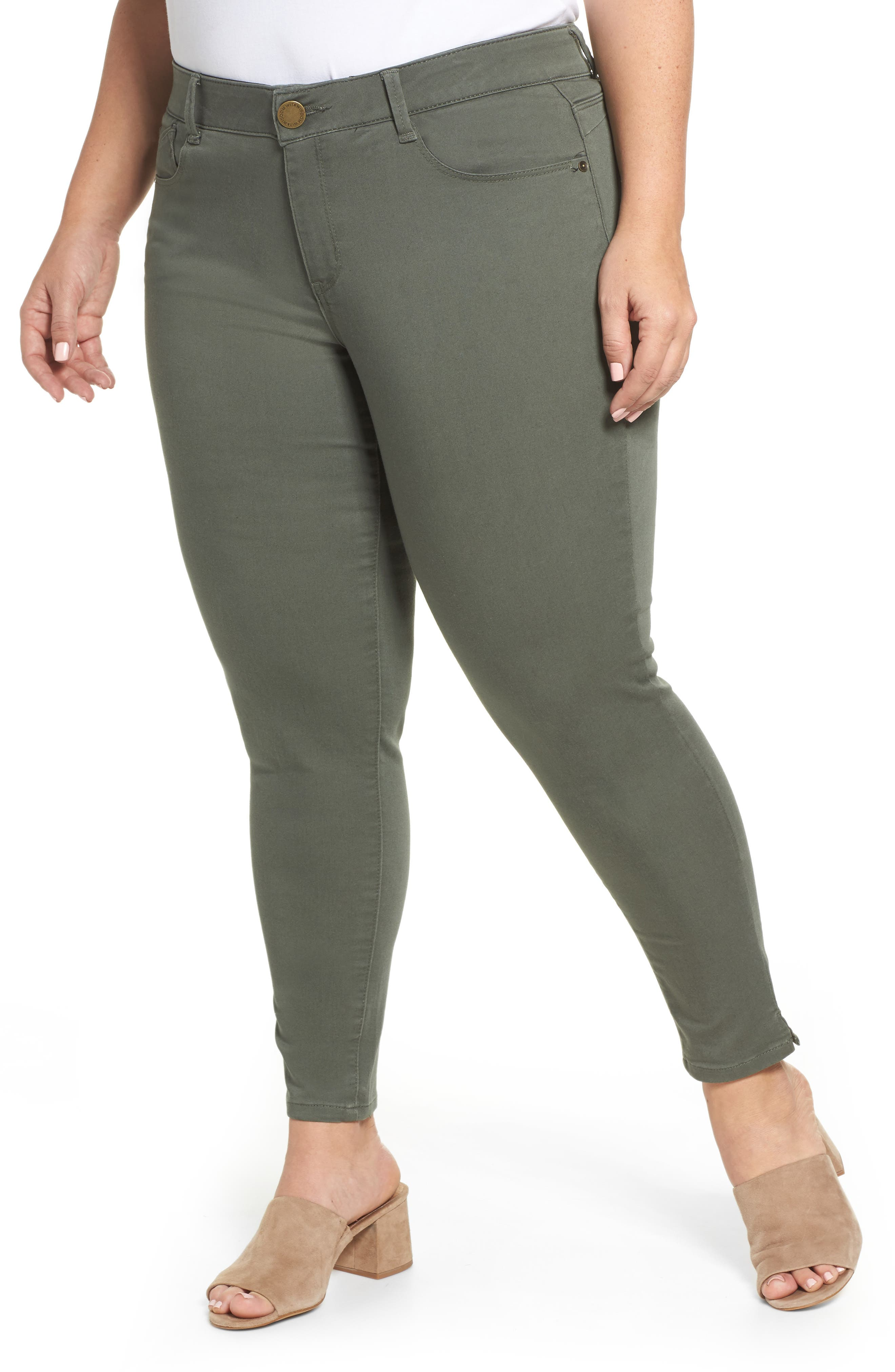 Ab-solution Ankle Pants,                             Main thumbnail 1, color,                             THYME