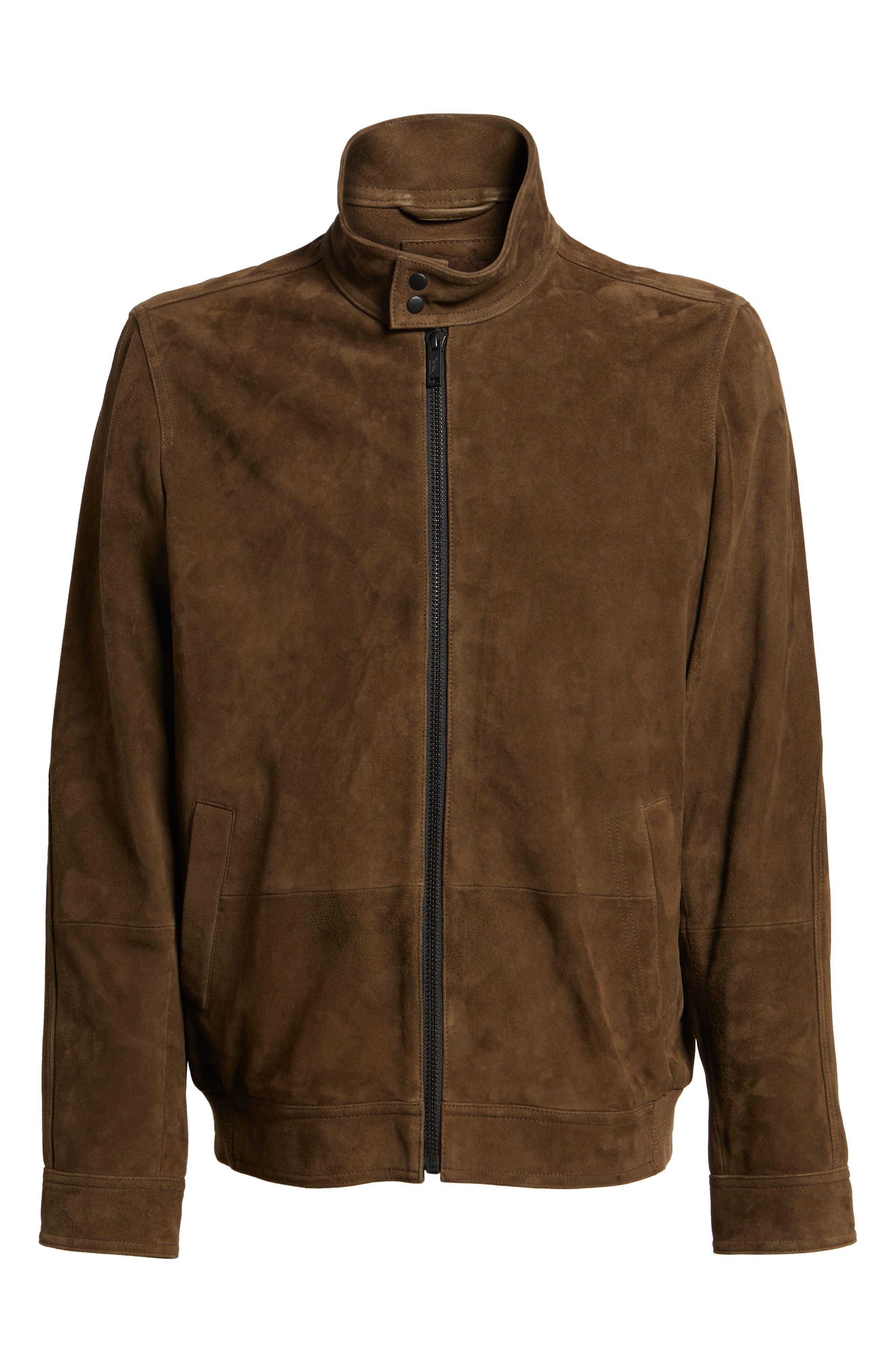 Avondale Suede Jacket,                             Alternate thumbnail 5, color,                             230