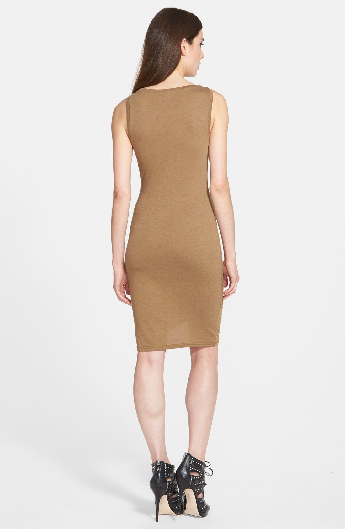 Ruched Body-Con Tank Dress,                             Alternate thumbnail 61, color,