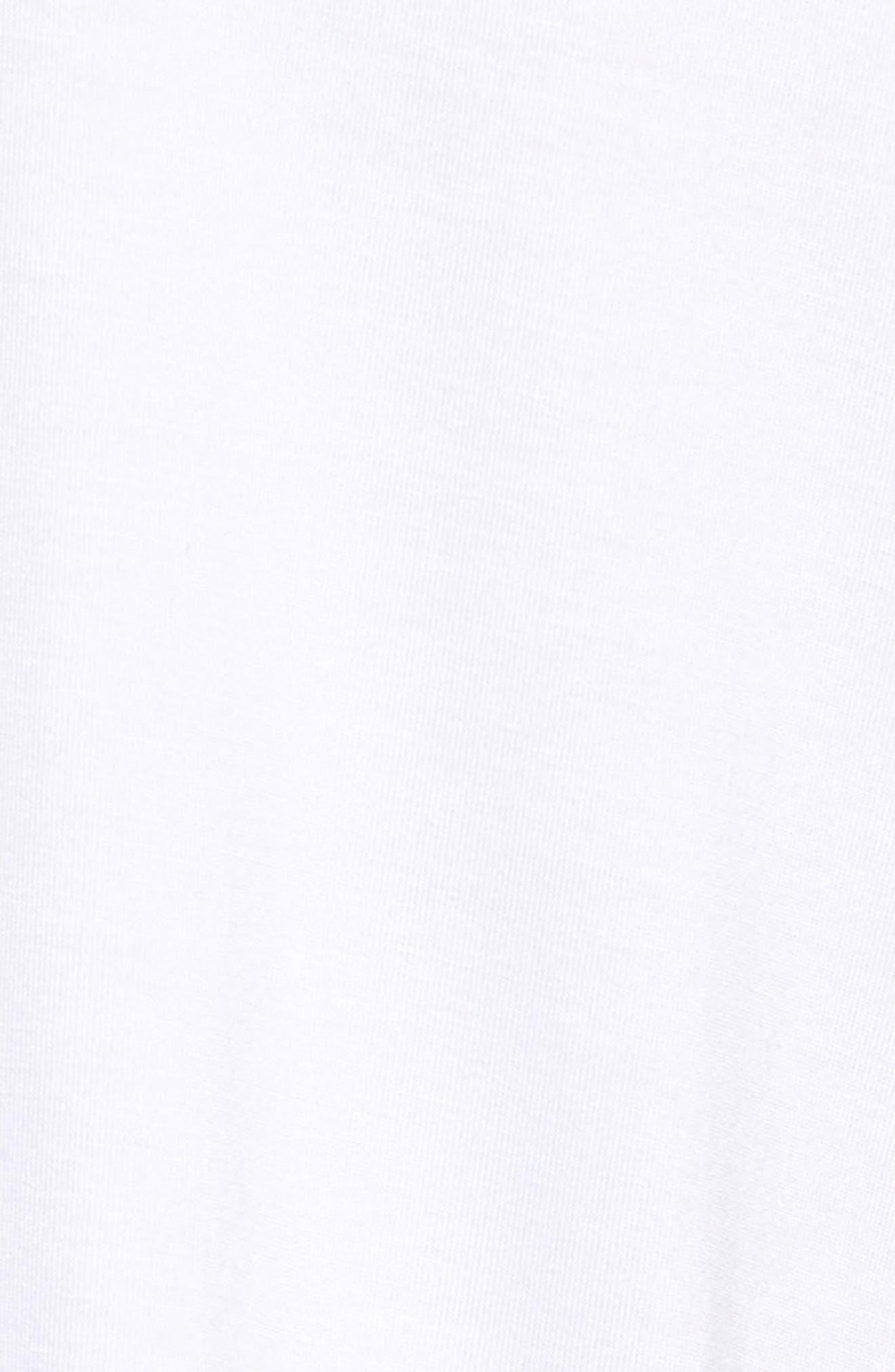 Ruffle Sleeve Tee,                             Alternate thumbnail 42, color,