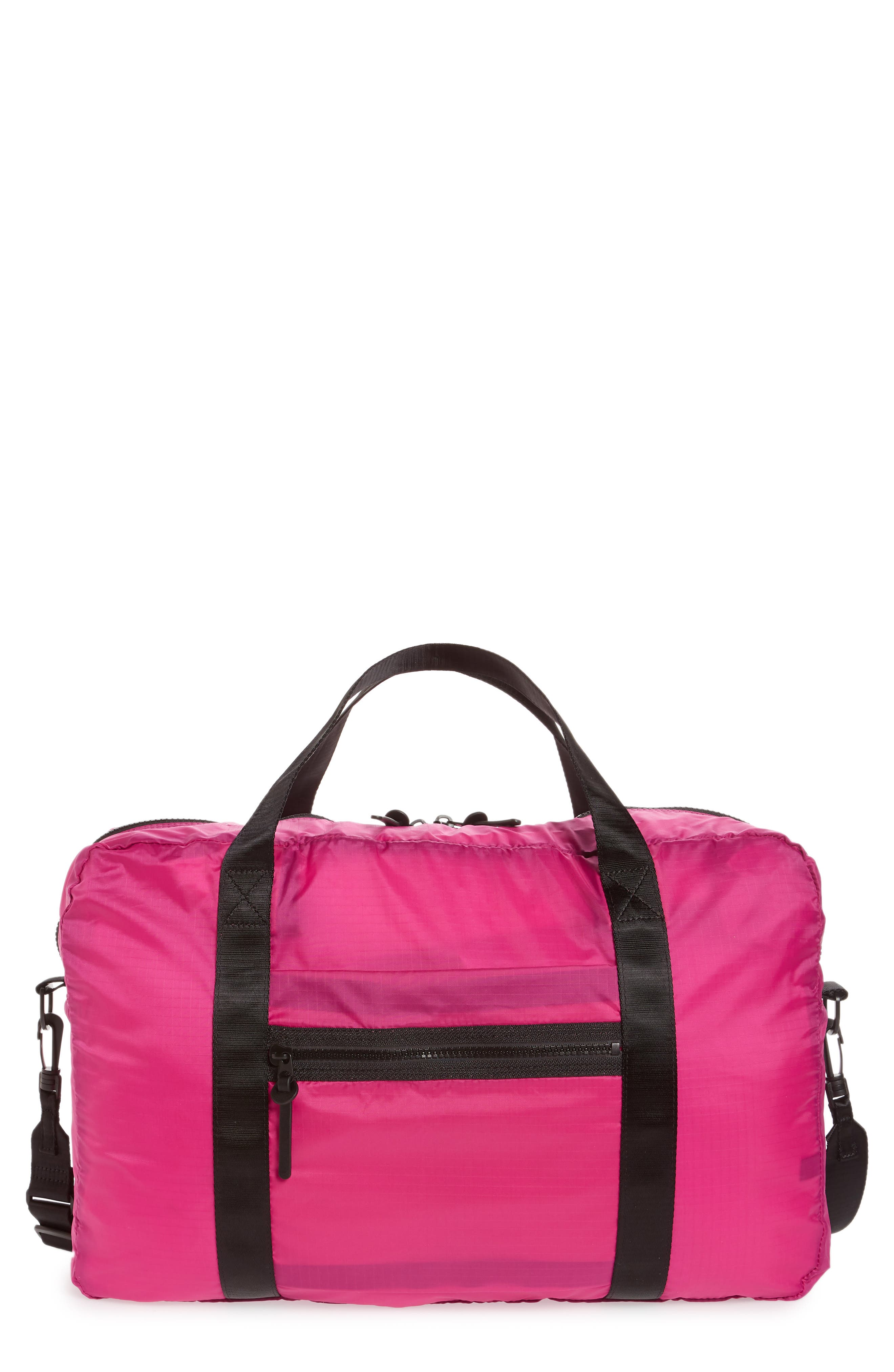 Packable Nylon Duffel Bag,                             Main thumbnail 3, color,