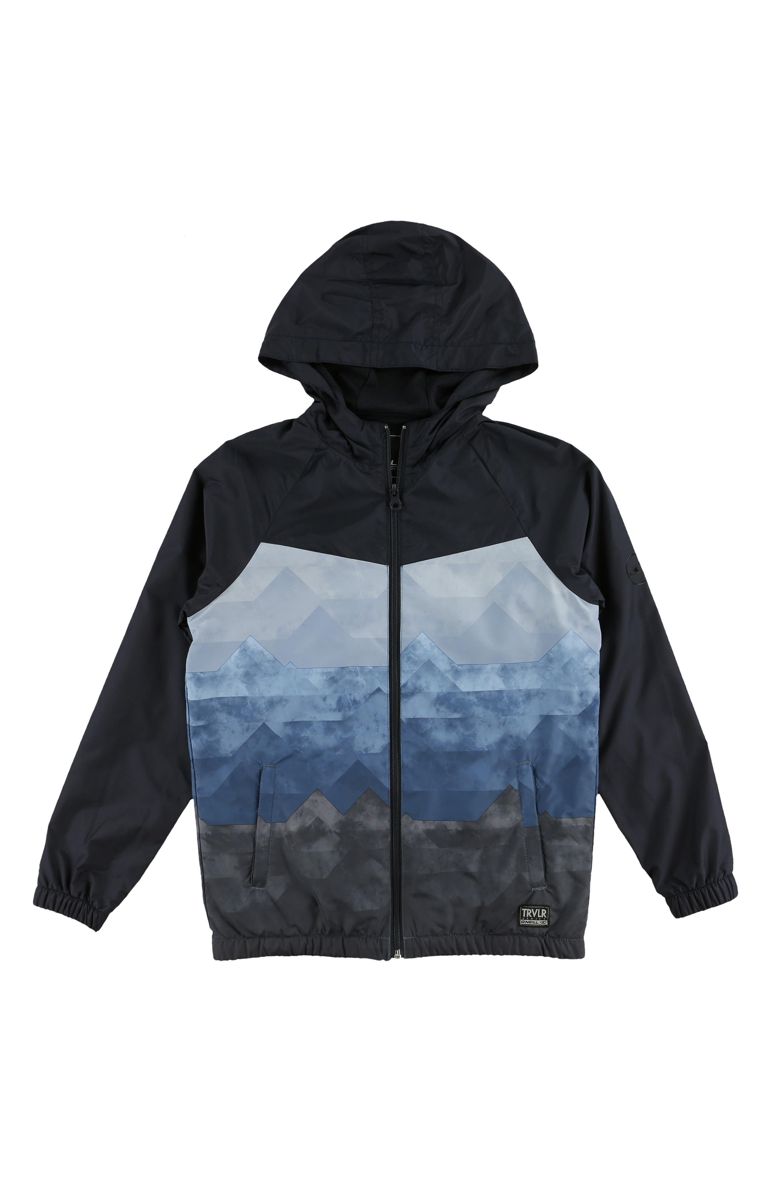 Traveler Packable Windbreaker Jacket,                         Main,                         color, 412