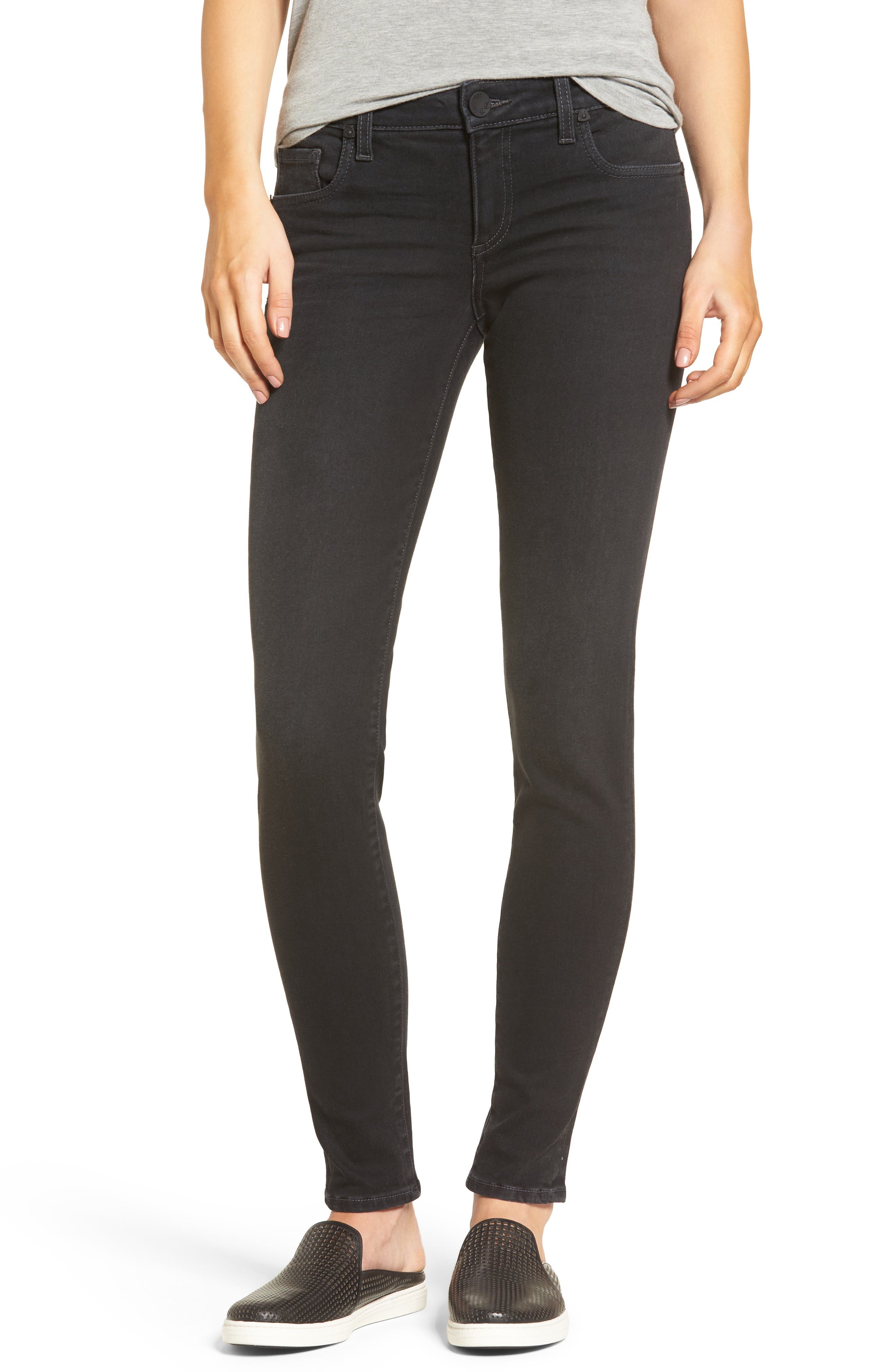 Donna Skinny Jeans,                             Main thumbnail 1, color,