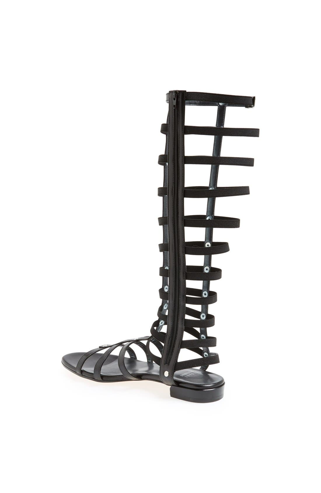 Gladiator Sandal,                             Alternate thumbnail 4, color,                             001