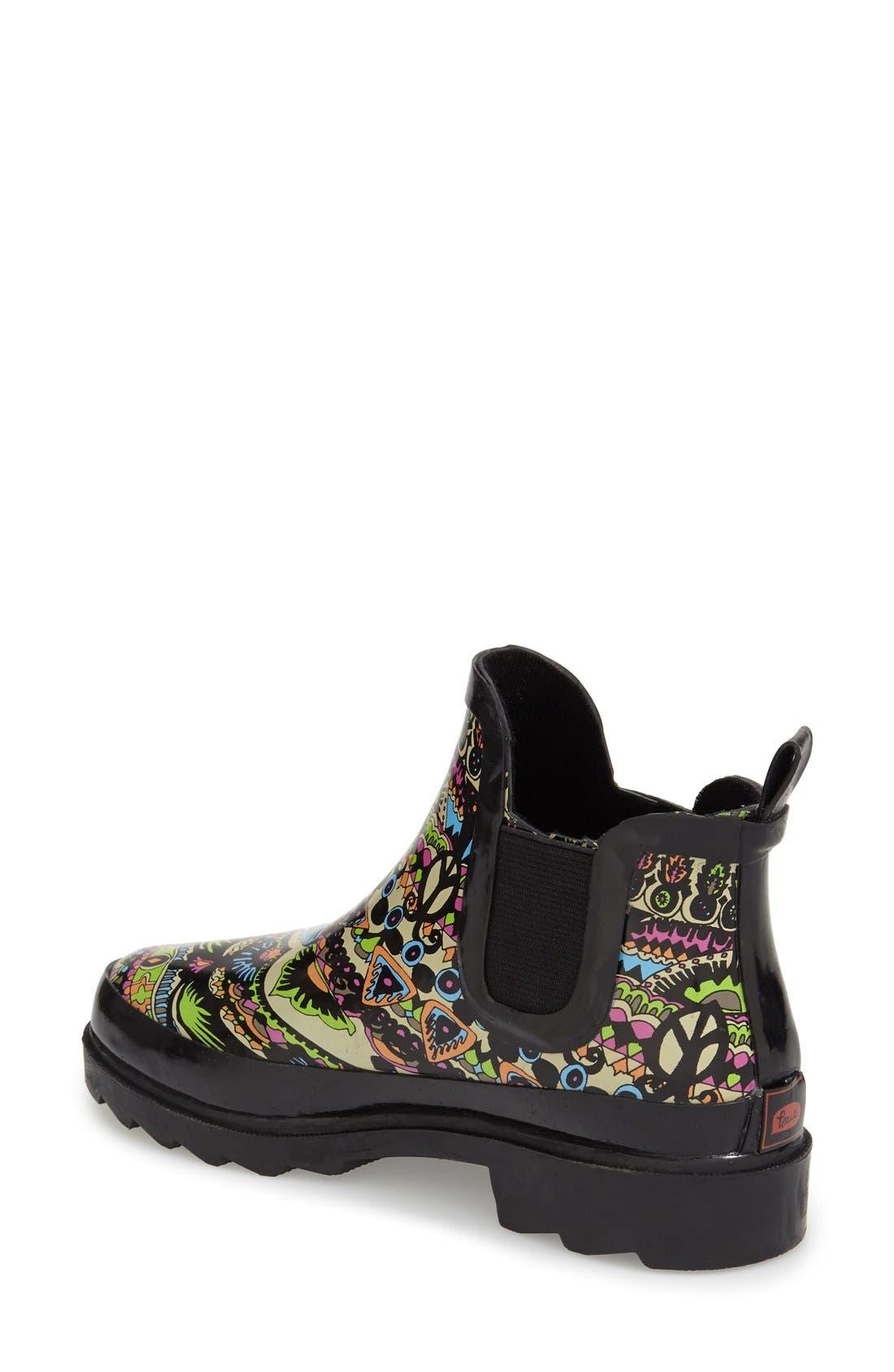 'Rhyme' Waterproof Rain Boot,                             Alternate thumbnail 31, color,