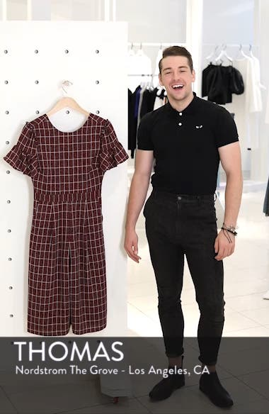 Cropped Check Jumpsuit, sales video thumbnail