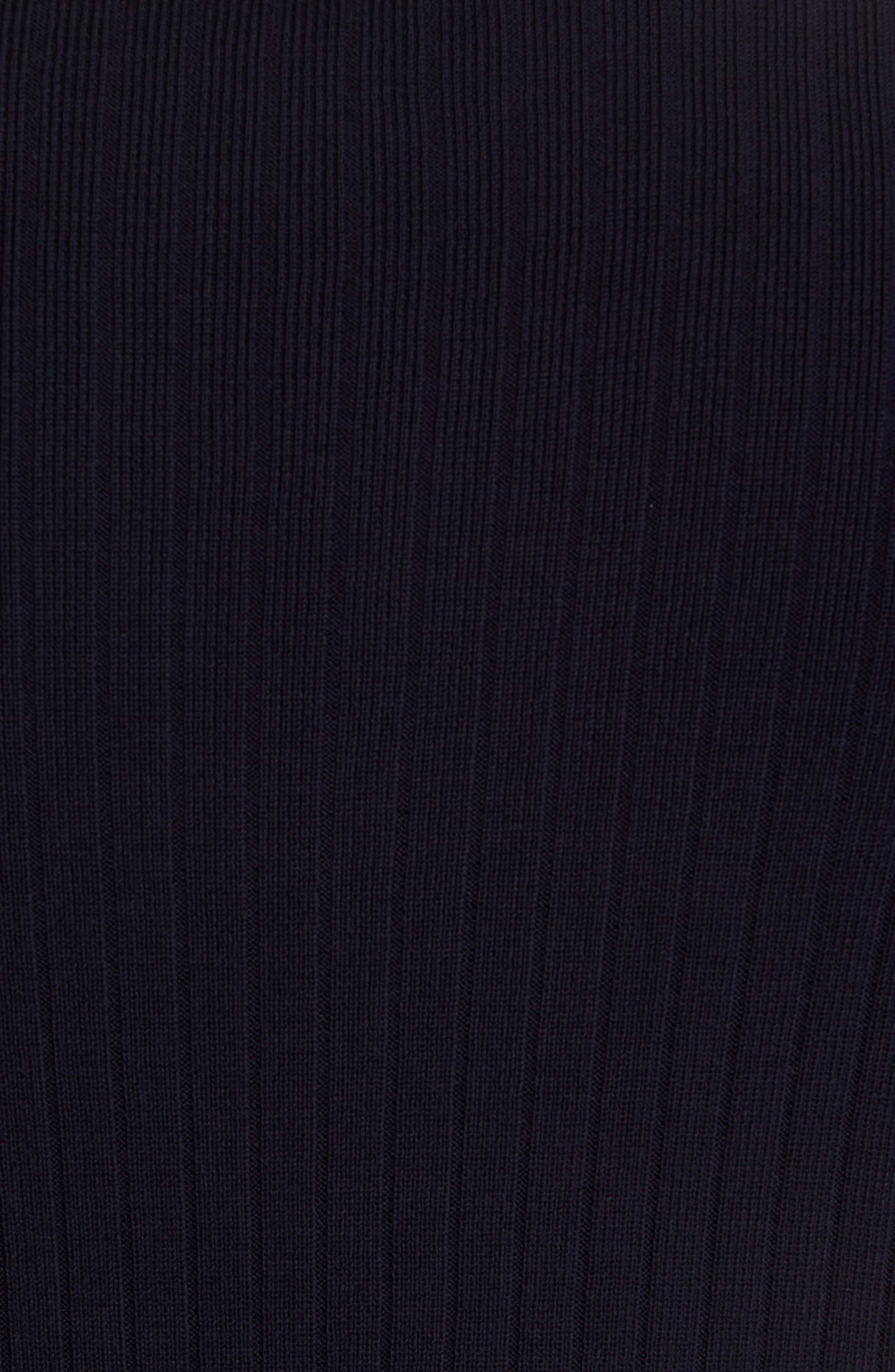 Half Zip Mock Neck Sweater,                             Alternate thumbnail 5, color,                             403