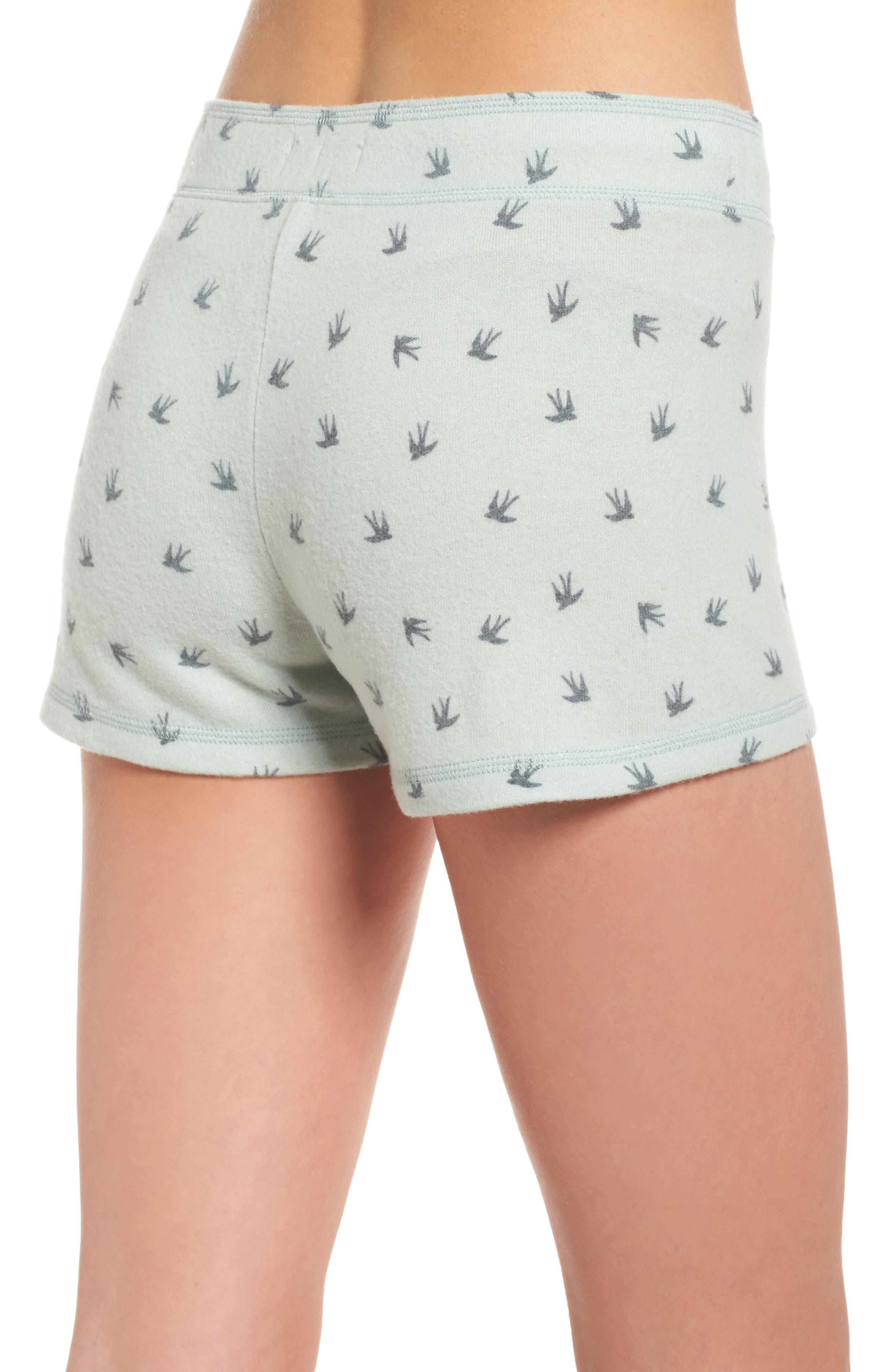 Peachy Pajama Shorts,                             Alternate thumbnail 5, color,