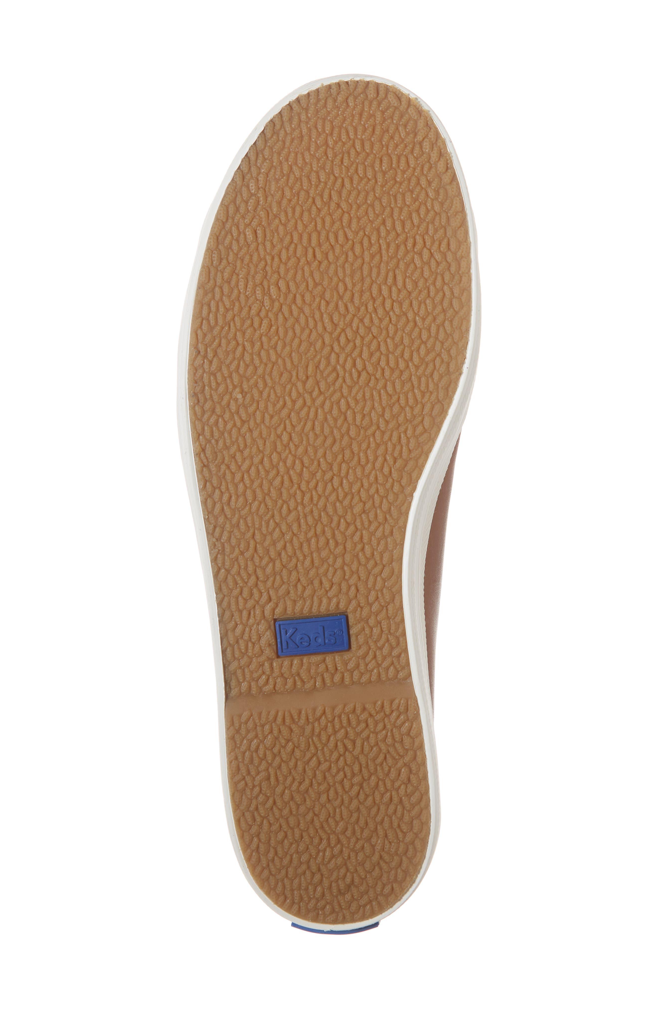 KEDS<SUP>®</SUP>,                             Kickstart Low Top Sneaker,                             Alternate thumbnail 6, color,                             COGNAC