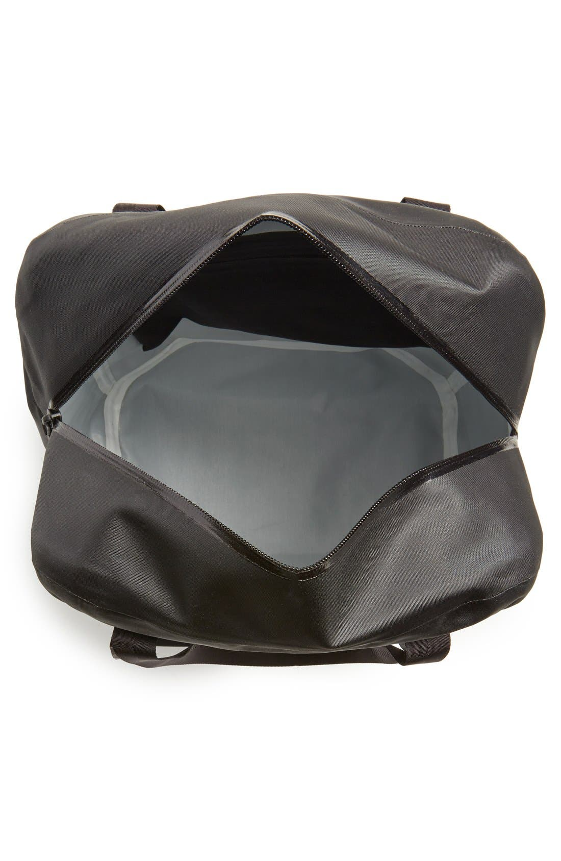 'Seque' Water Resistant Nylon Tote,                             Alternate thumbnail 3, color,                             001