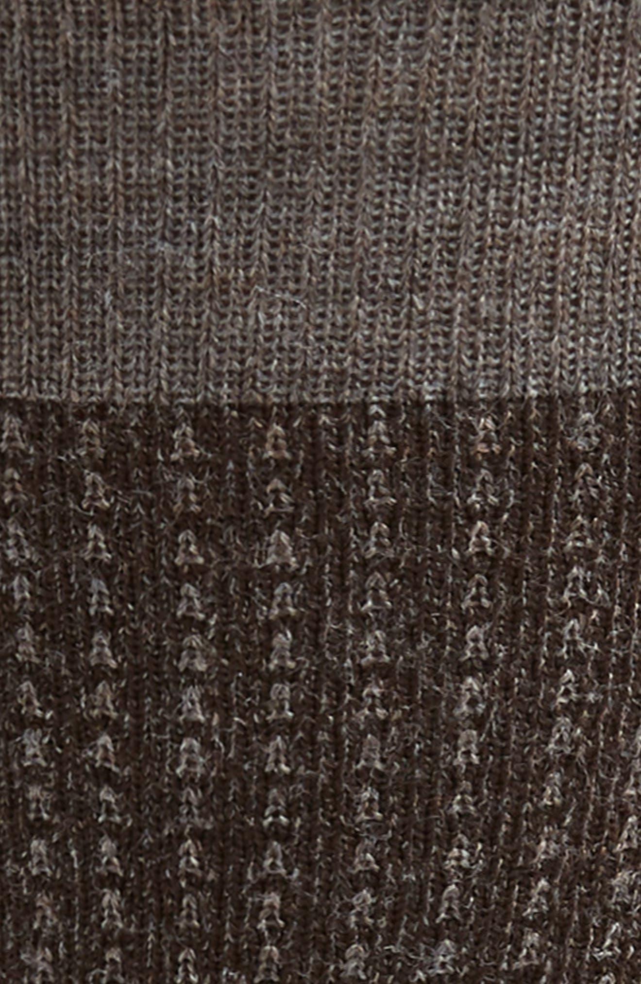 Premium East Gate Socks,                             Alternate thumbnail 2, color,                             TAUPE HEATHER