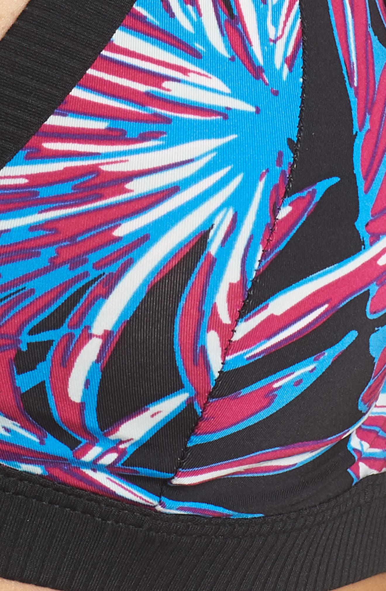 Koko Quick Dry Surf Bikini Top,                             Alternate thumbnail 5, color,                             001