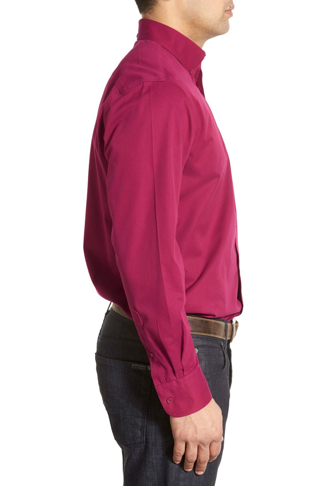 Smartcare<sup>™</sup> Traditional Fit Twill Boat Shirt,                             Alternate thumbnail 105, color,