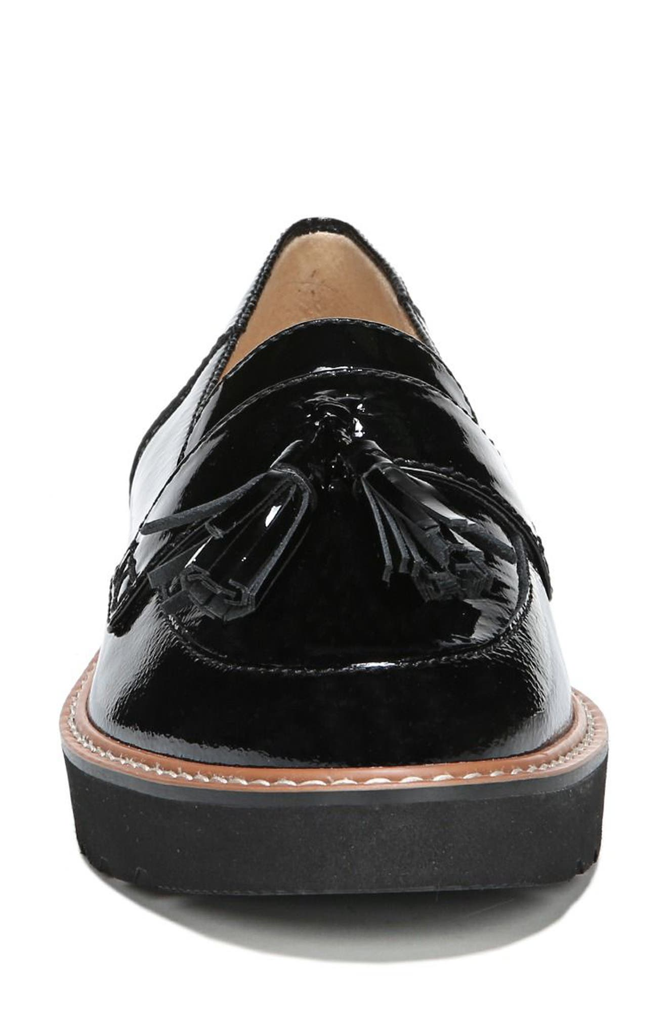 August Loafer,                             Alternate thumbnail 4, color,                             BLACK PATENT LEATHER