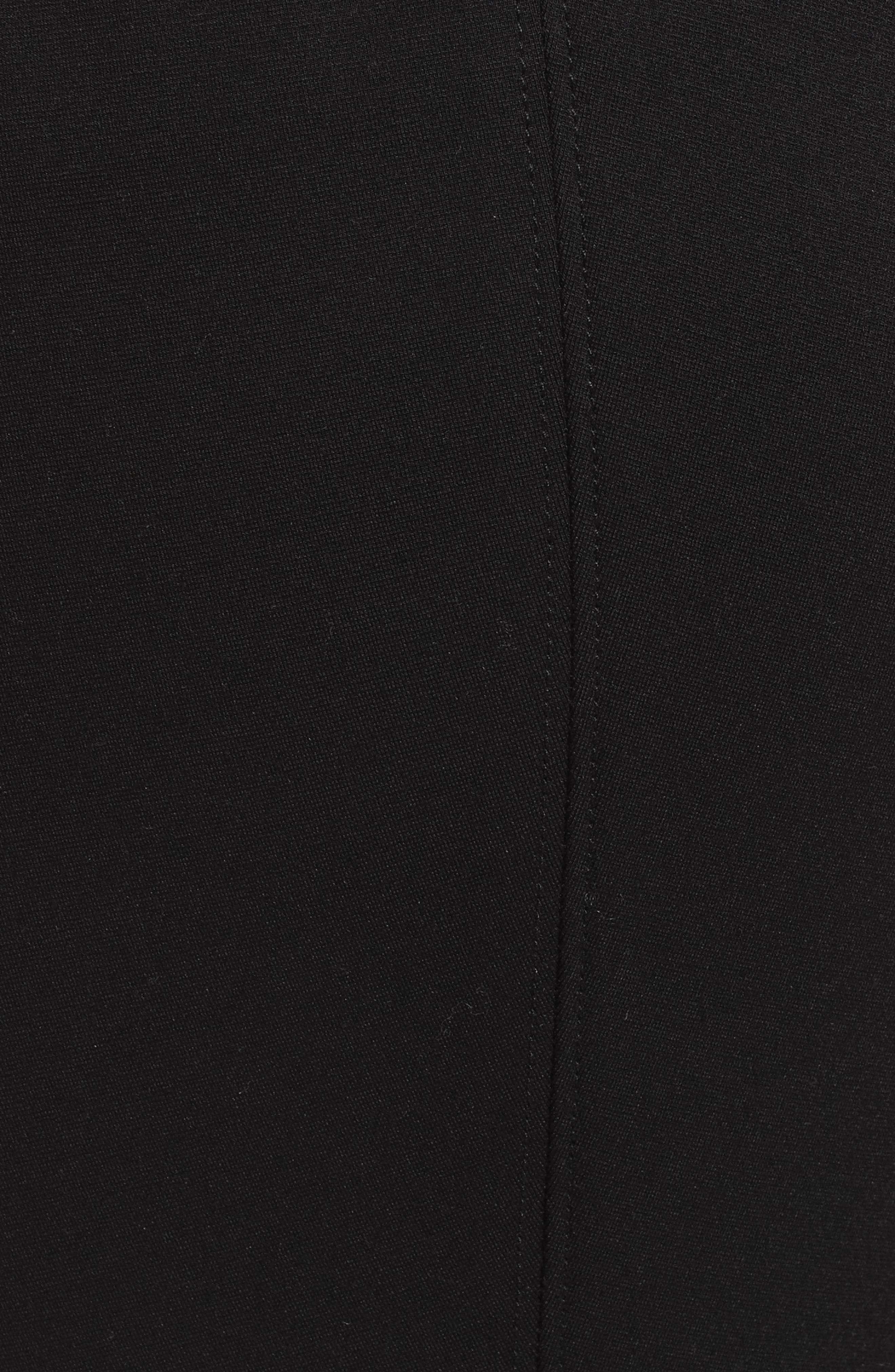 Ponte Knit Stirrup Leggings,                             Alternate thumbnail 5, color,                             001