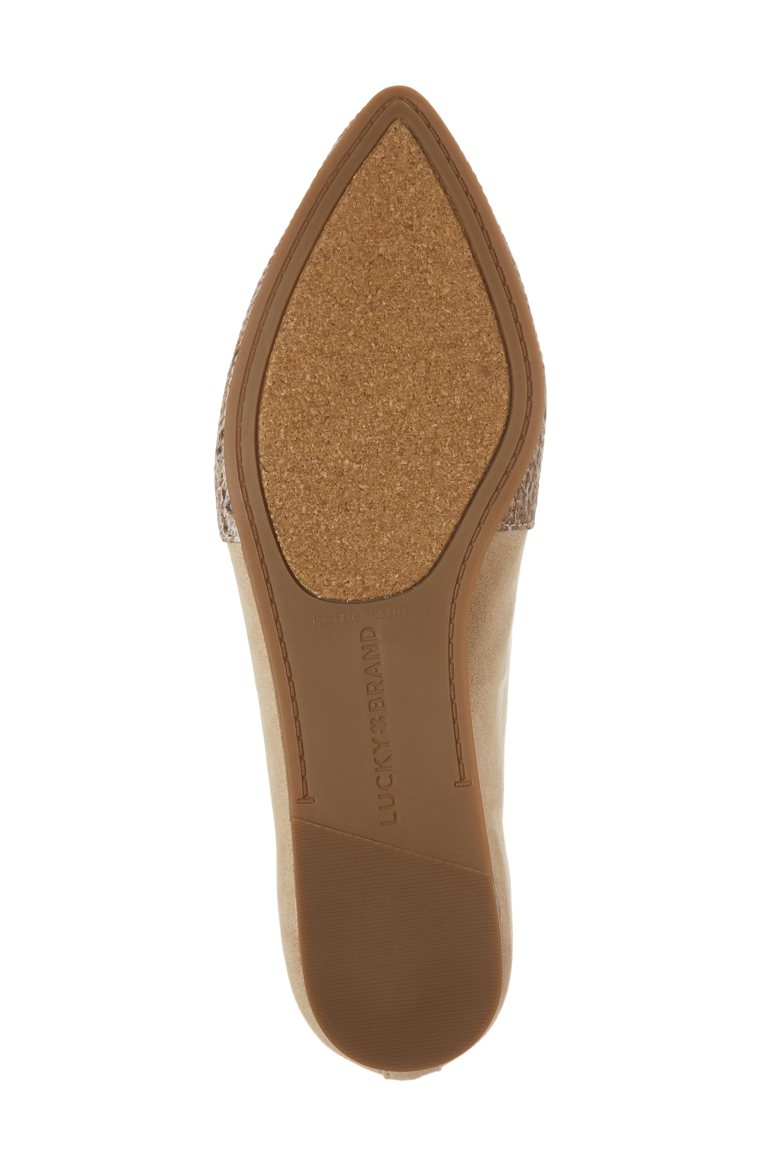 Beechmer Pointy Toe Flat,                             Alternate thumbnail 27, color,