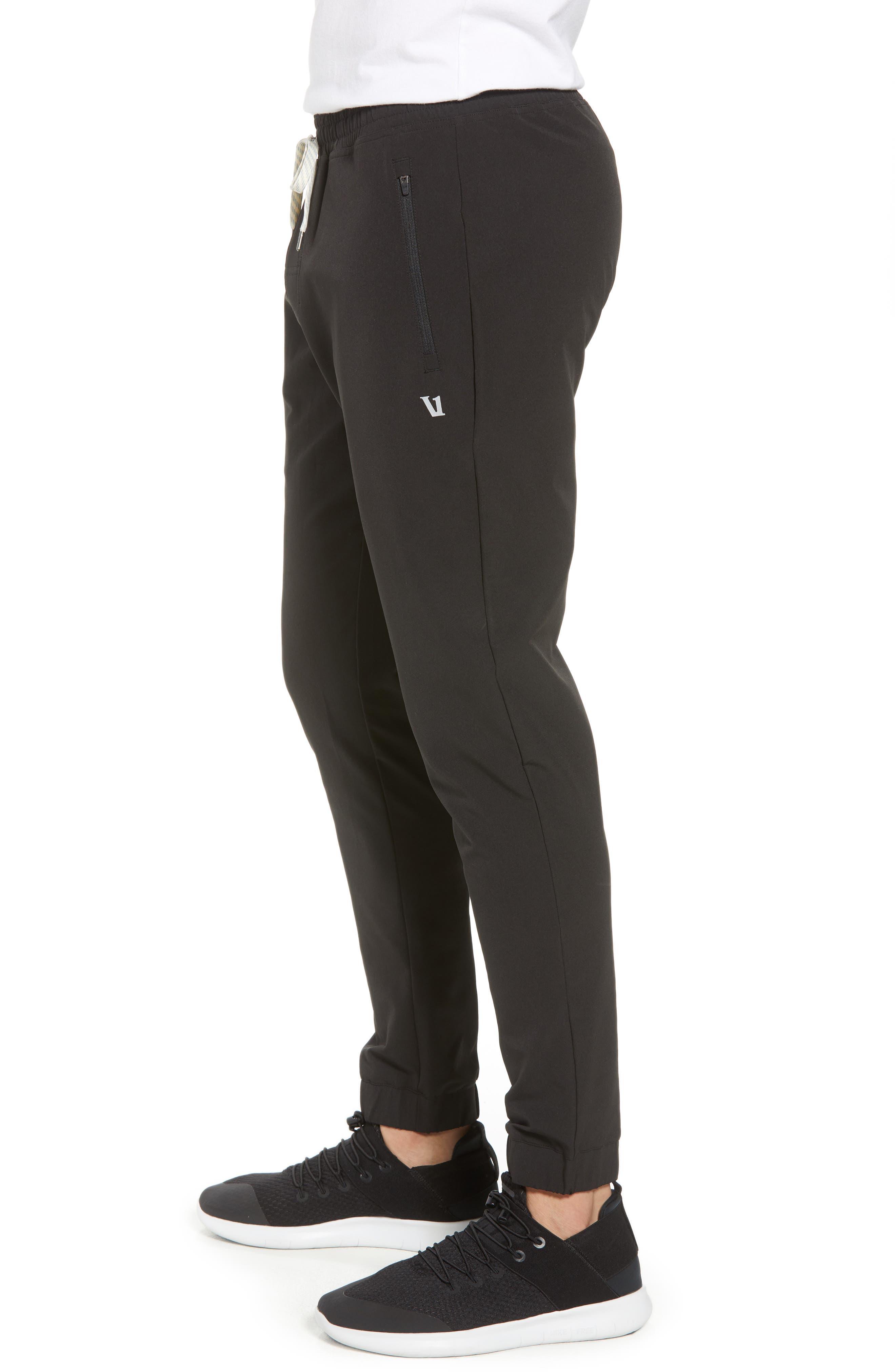 Transit Jogger Pants,                             Alternate thumbnail 3, color,                             BLACK