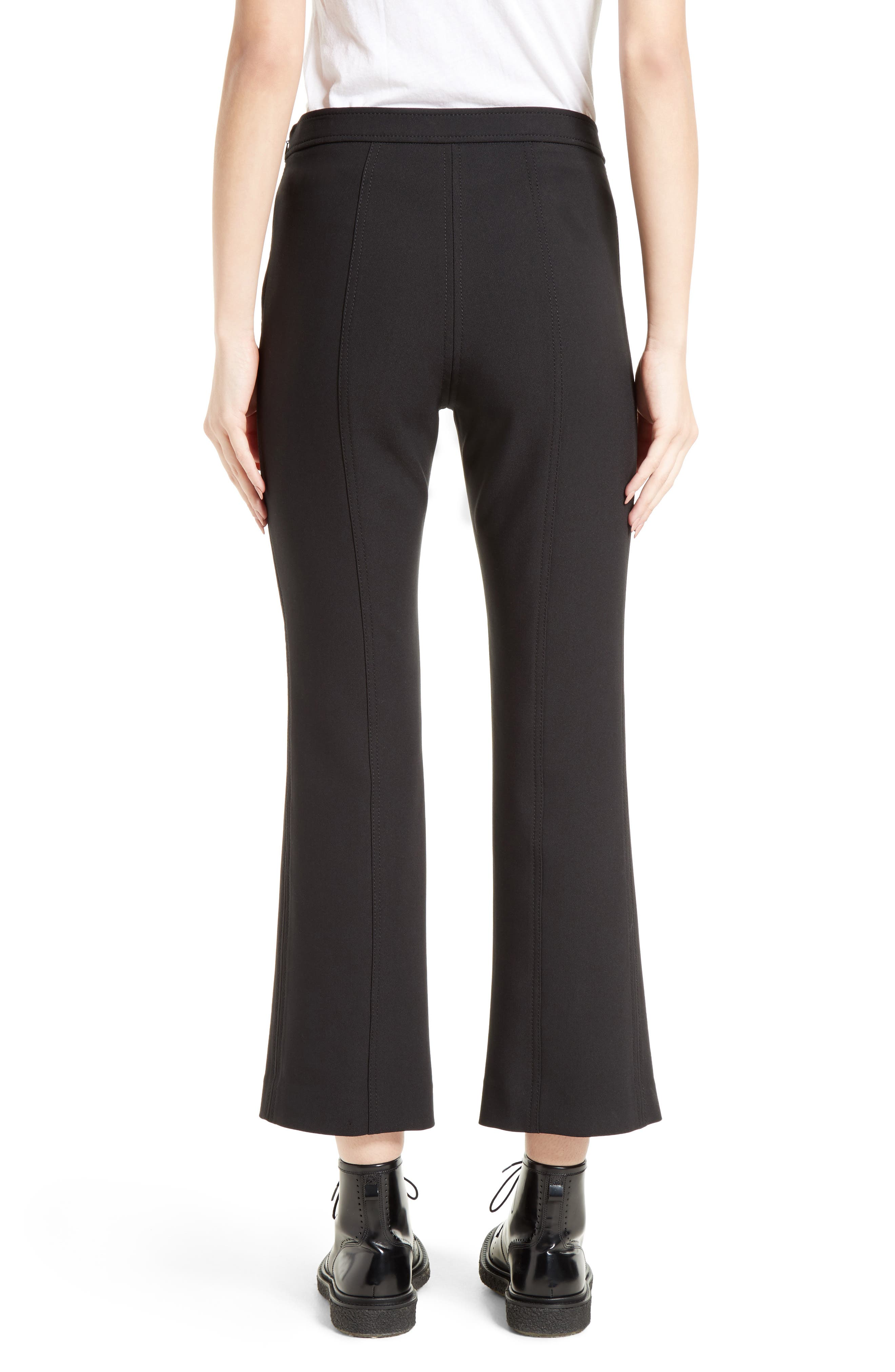 Tinsley Crop Flare Pants,                             Alternate thumbnail 2, color,                             001