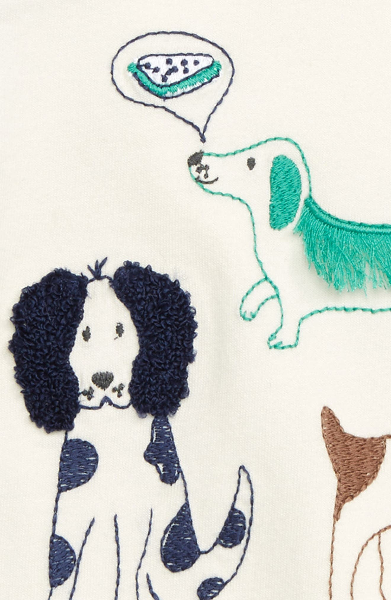 Farmyard Sketch T-Shirt,                             Alternate thumbnail 2, color,                             ECRU
