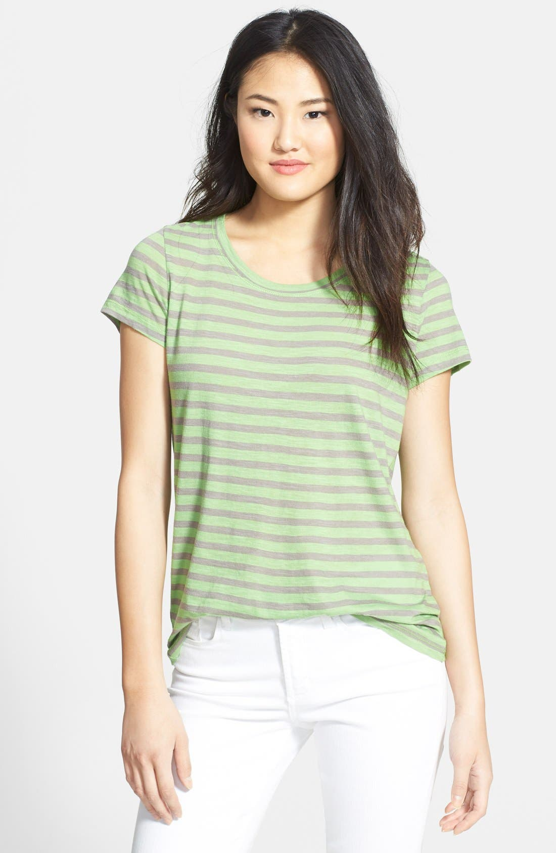 Short Sleeve Cotton & Modal Tee,                             Main thumbnail 10, color,