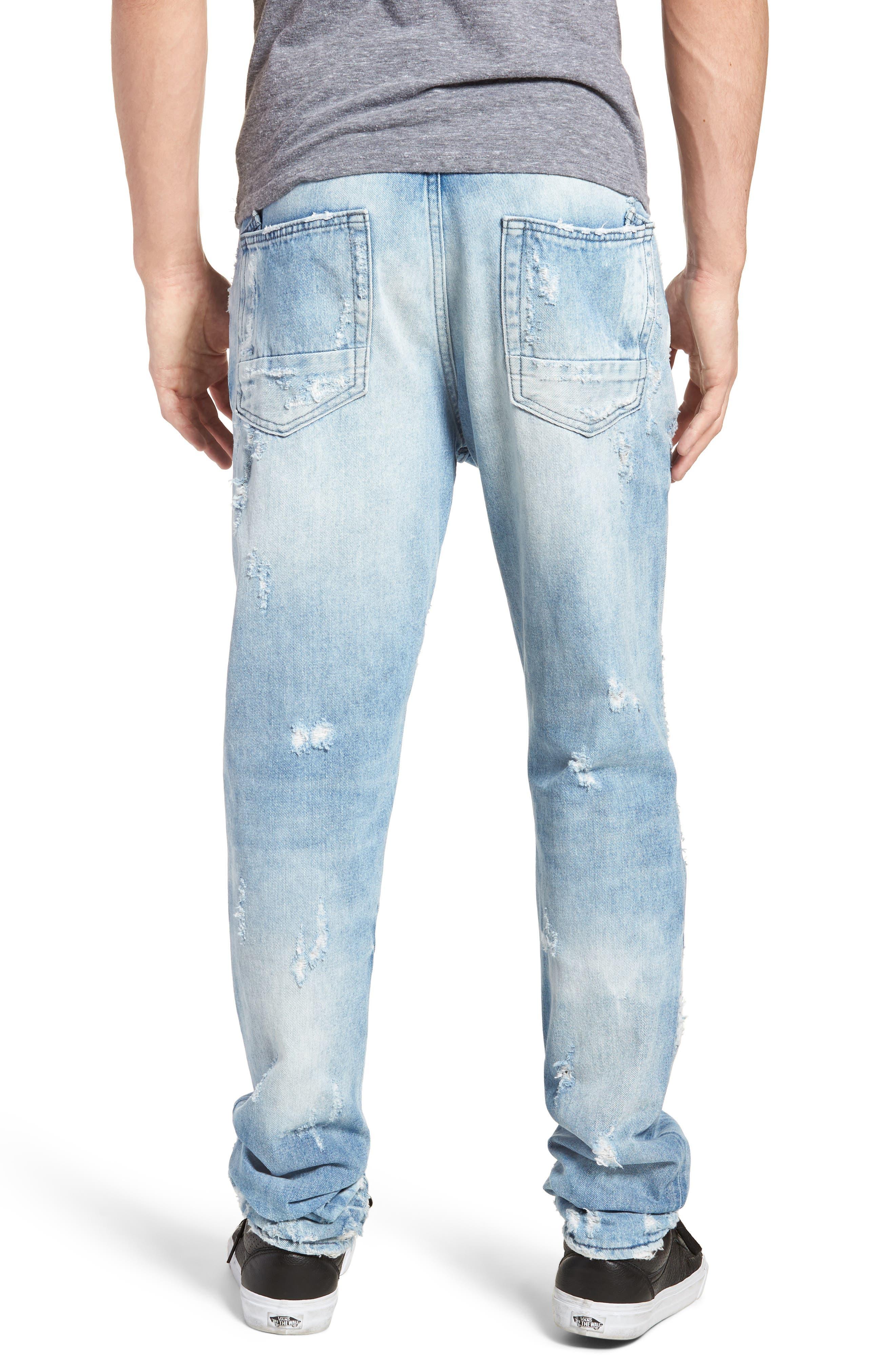 Le Sabre Slim Fit Jeans,                             Alternate thumbnail 2, color,                             454
