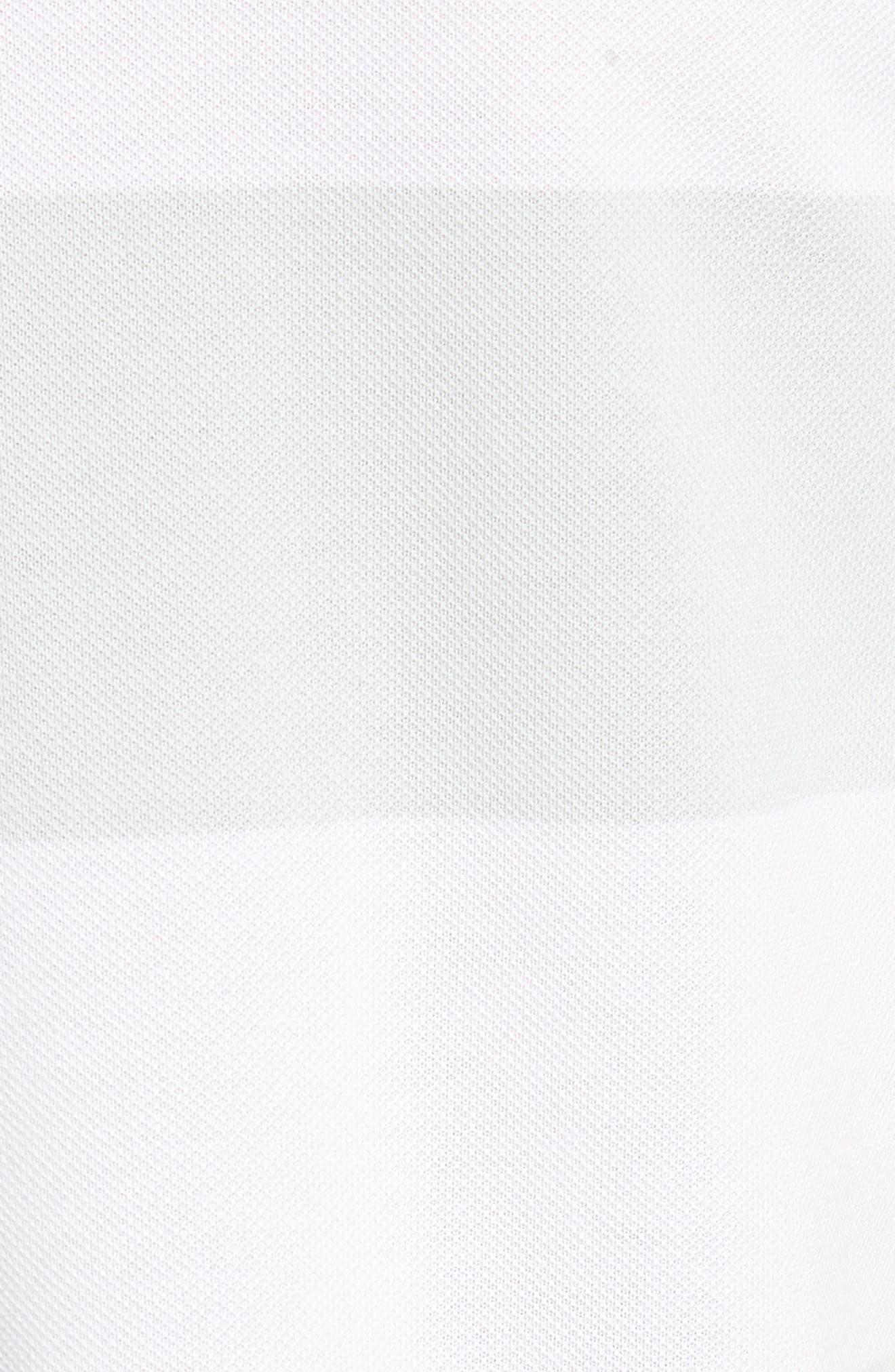 SB Dry Stripe Polo Shirt,                             Alternate thumbnail 5, color,                             BARELY GREY/ BARELY GREY