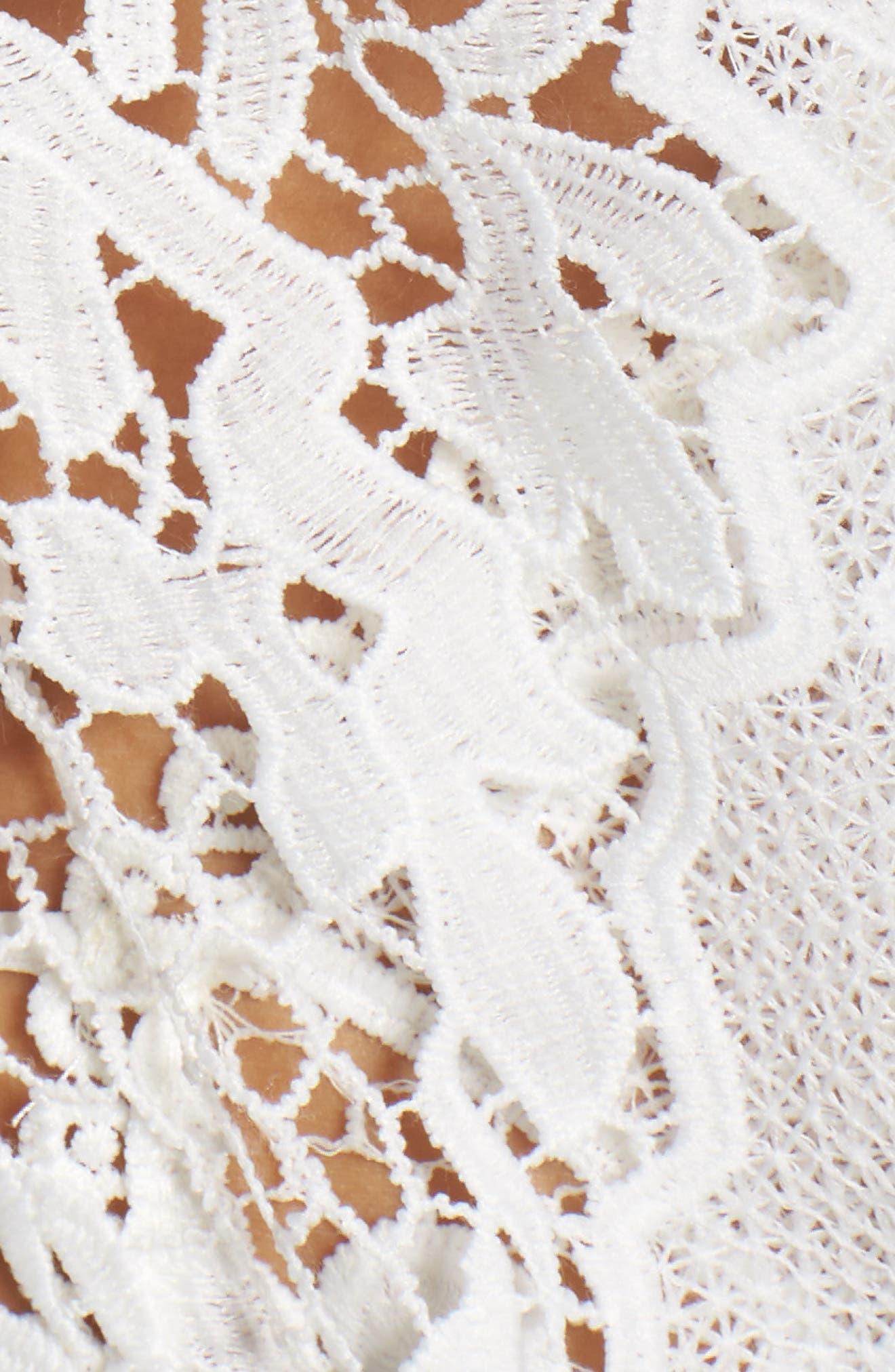Juliette Lace Wrap,                             Alternate thumbnail 5, color,                             100