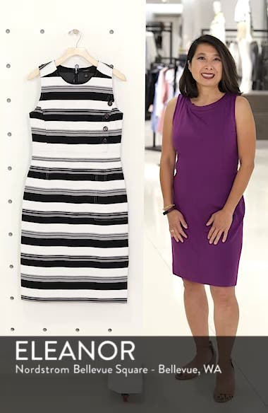 Stripe Knit Dress, sales video thumbnail