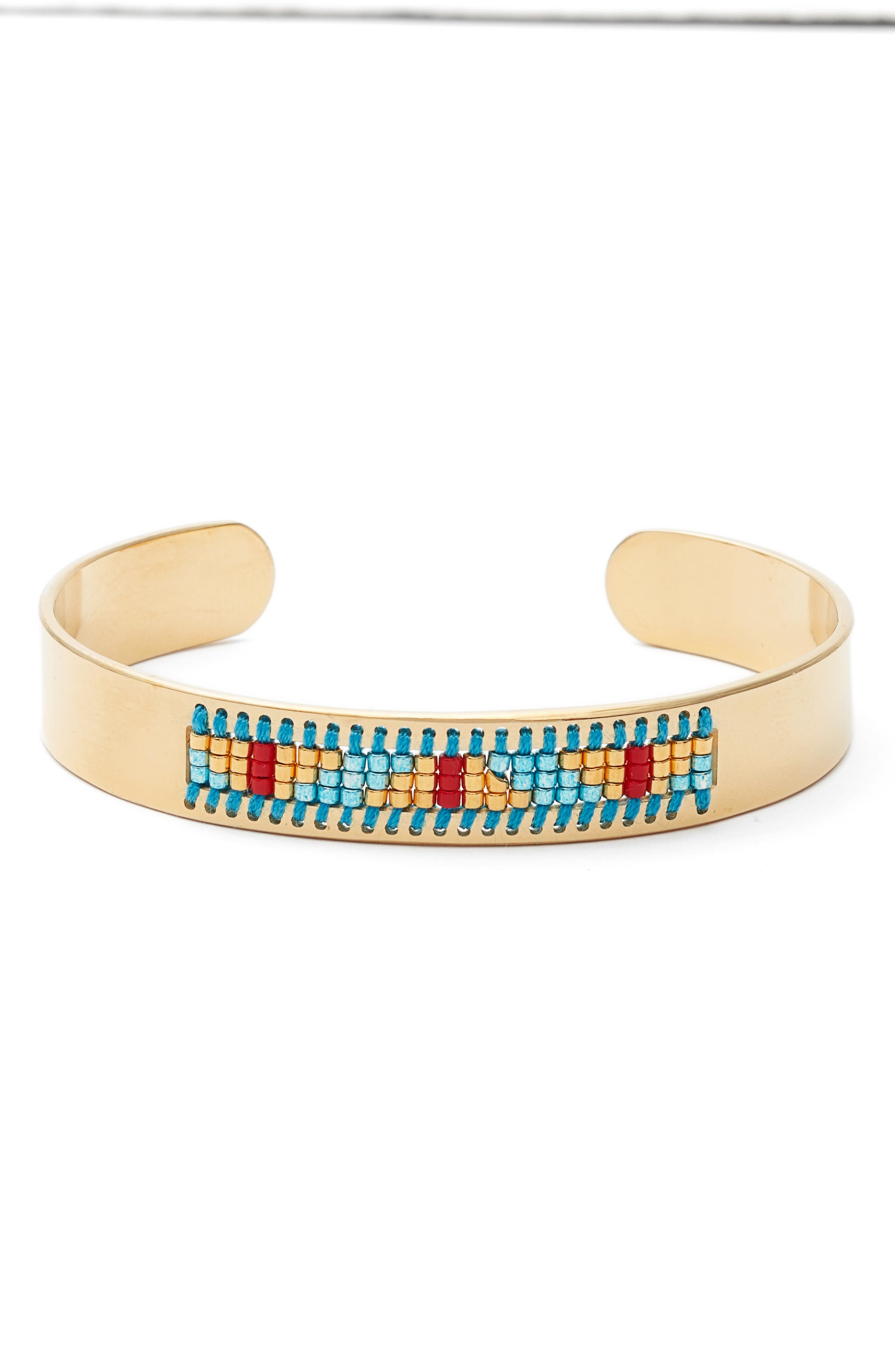 Mesa Cuff Bracelet,                         Main,                         color,