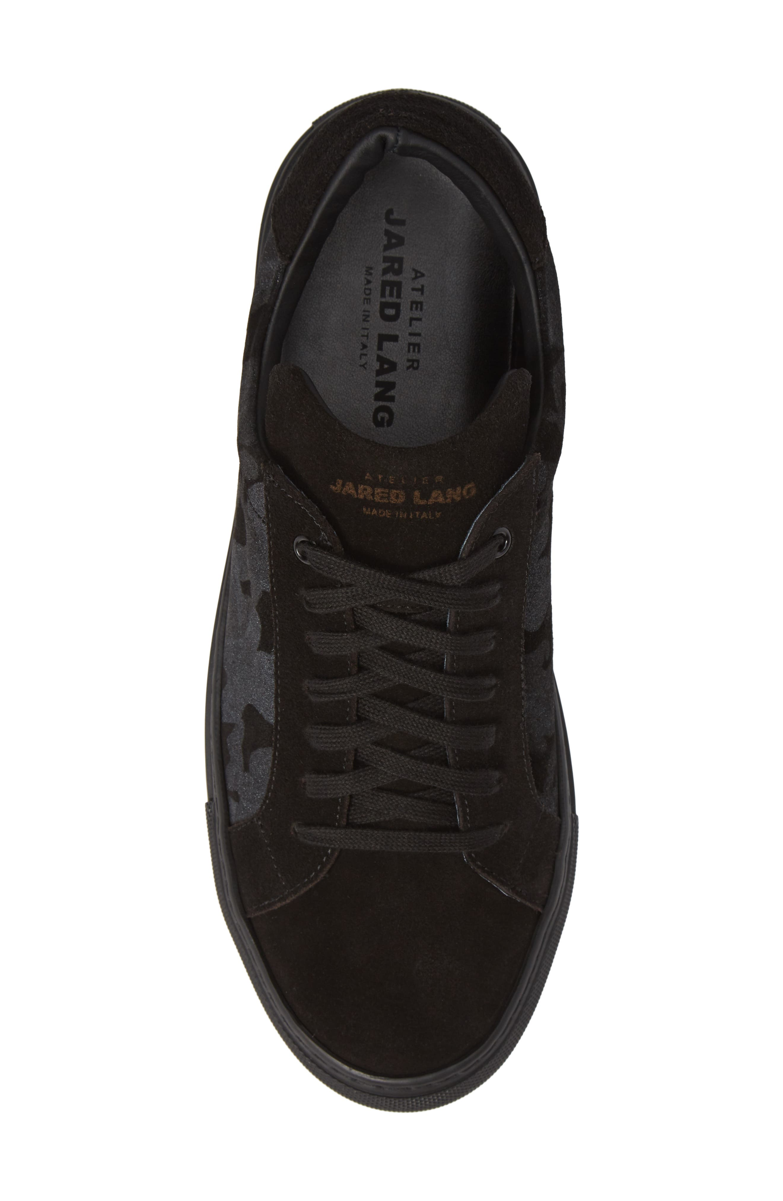Rome Sneaker,                             Alternate thumbnail 5, color,                             BLACK
