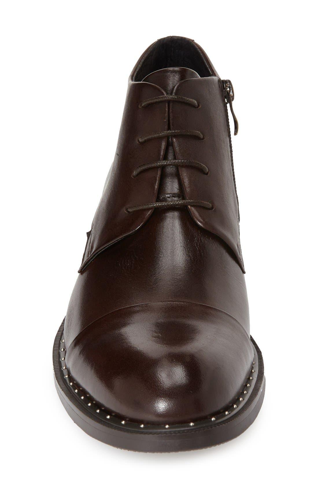 'Gela' ZipCap Toe Chukka Boot,                             Alternate thumbnail 3, color,                             201
