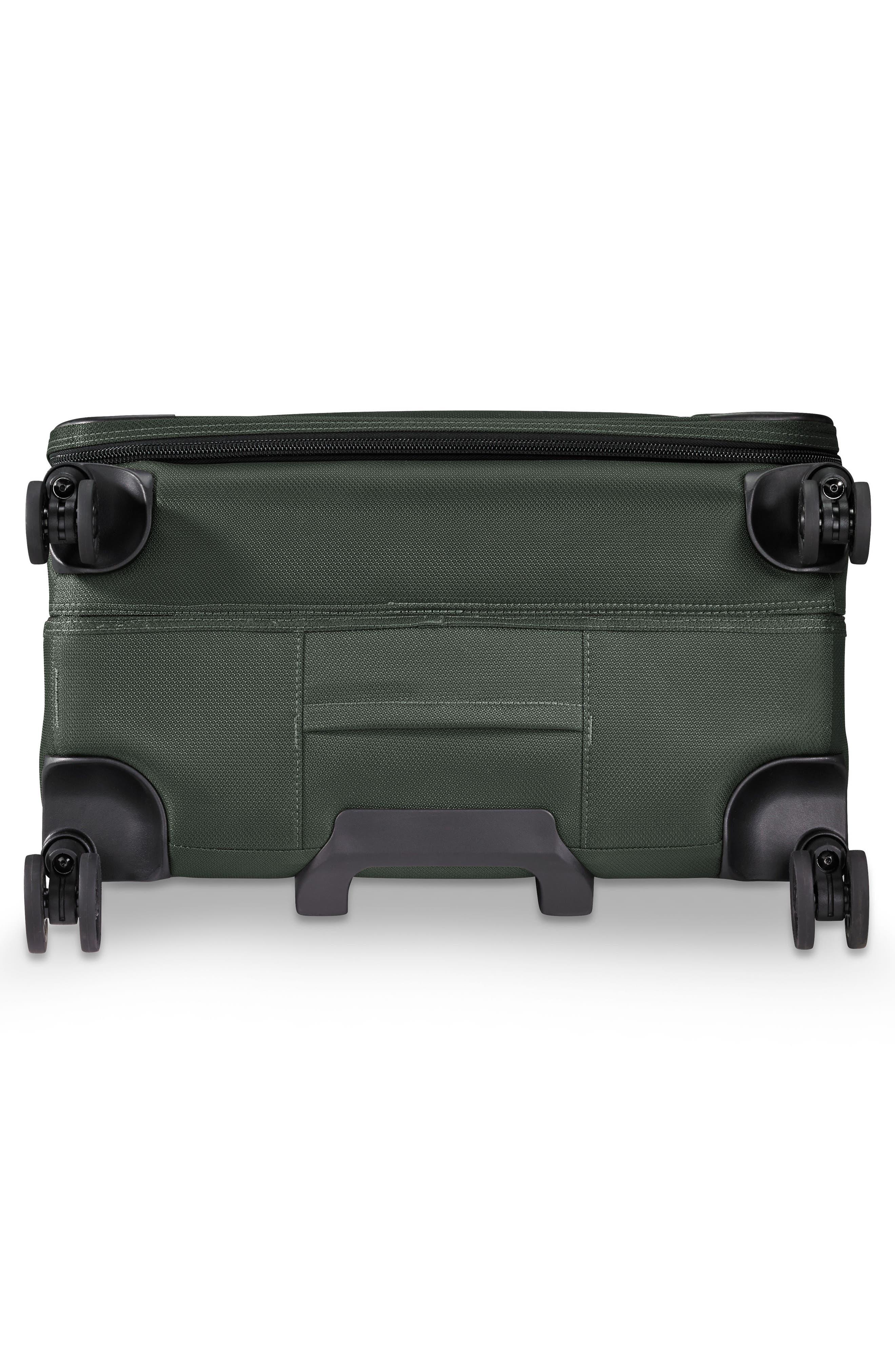 BRIGGS & RILEY,                             Transcend VX Medium Expandable 26-Inch Spinner Suitcase,                             Alternate thumbnail 6, color,                             RAINFOREST GREEN