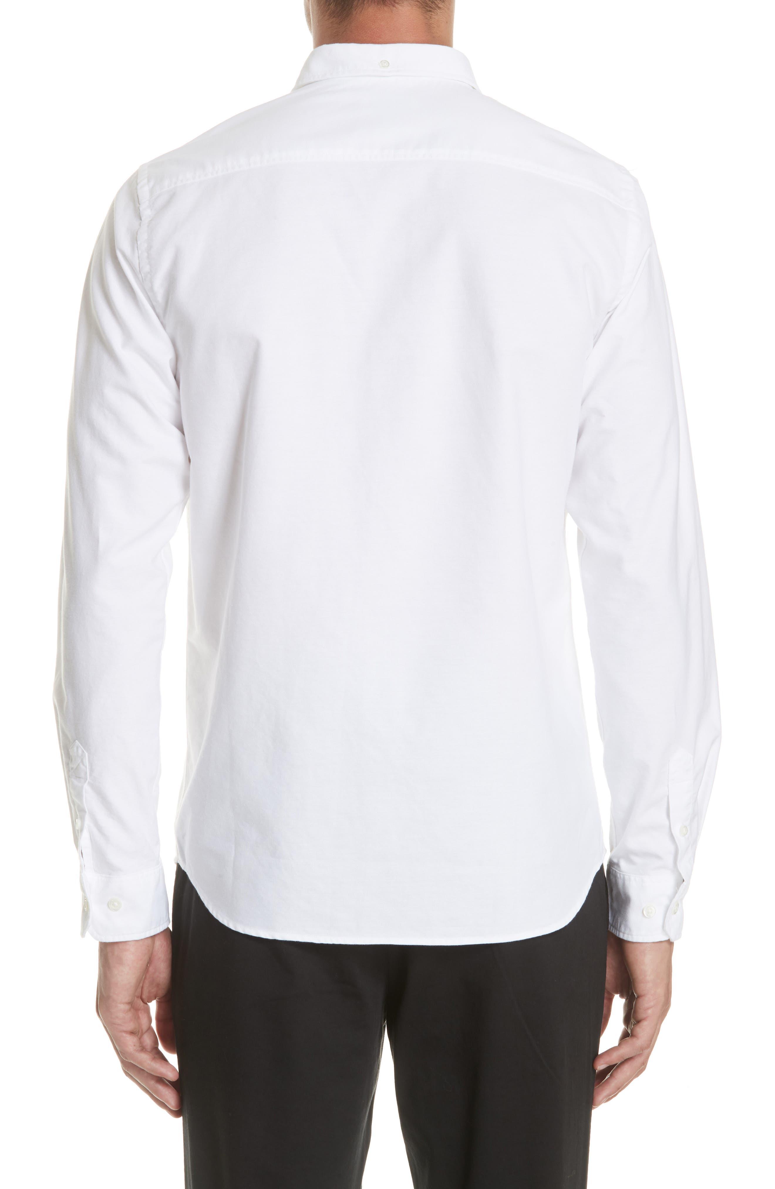 Anton Oxford Sport Shirt,                             Alternate thumbnail 2, color,                             100