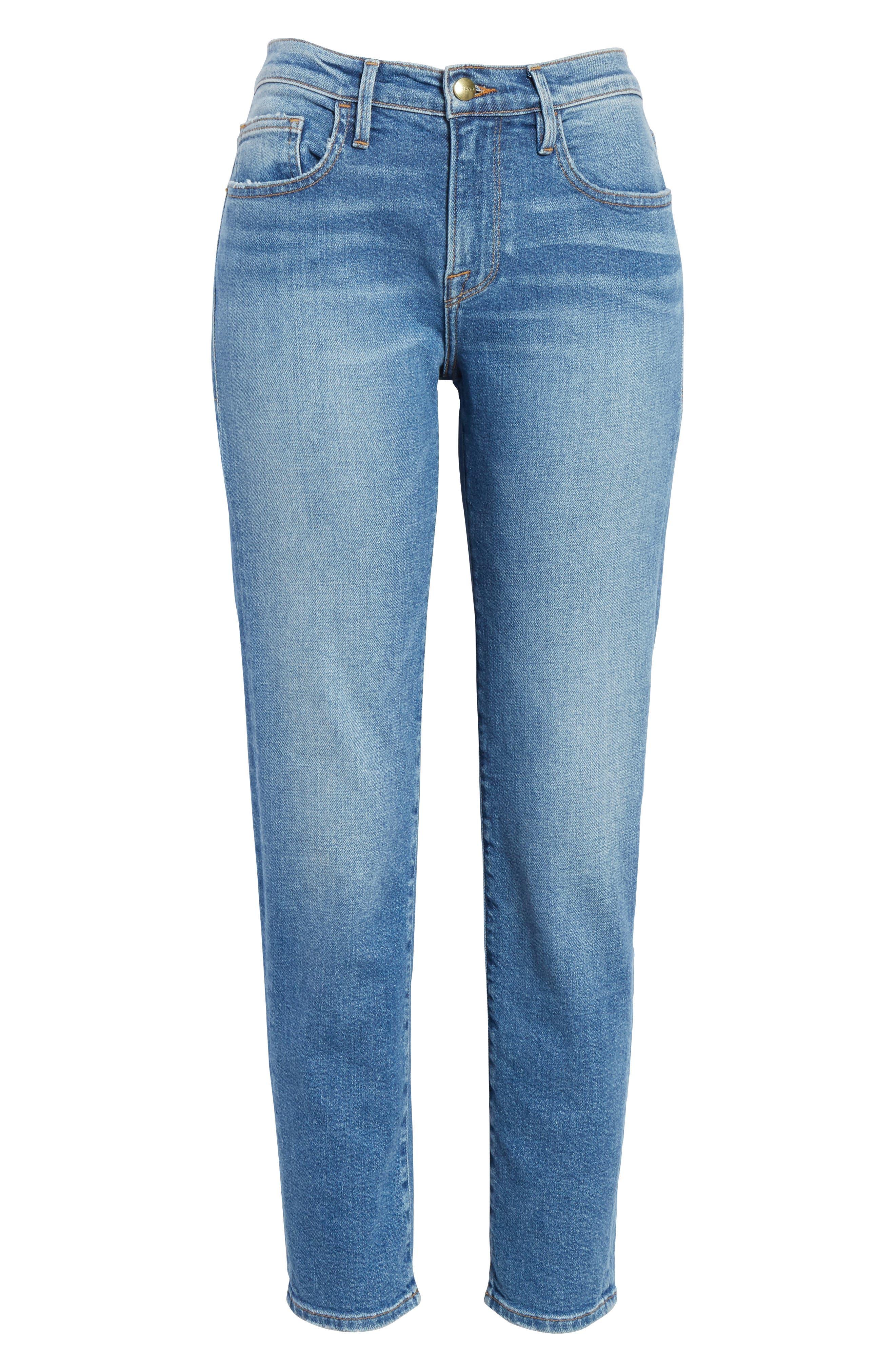 Le Boy Jeans,                             Alternate thumbnail 6, color,                             420
