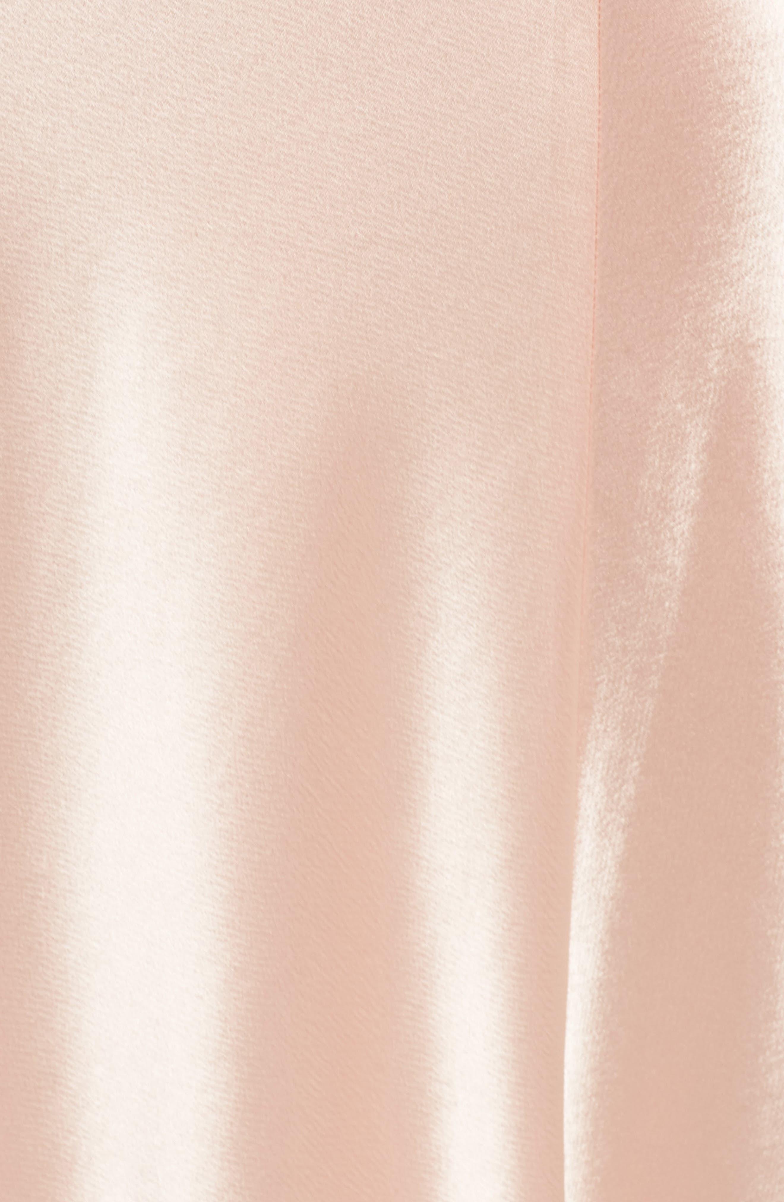 Carmen Embellished Satin Slip Gown,                             Alternate thumbnail 5, color,                             691